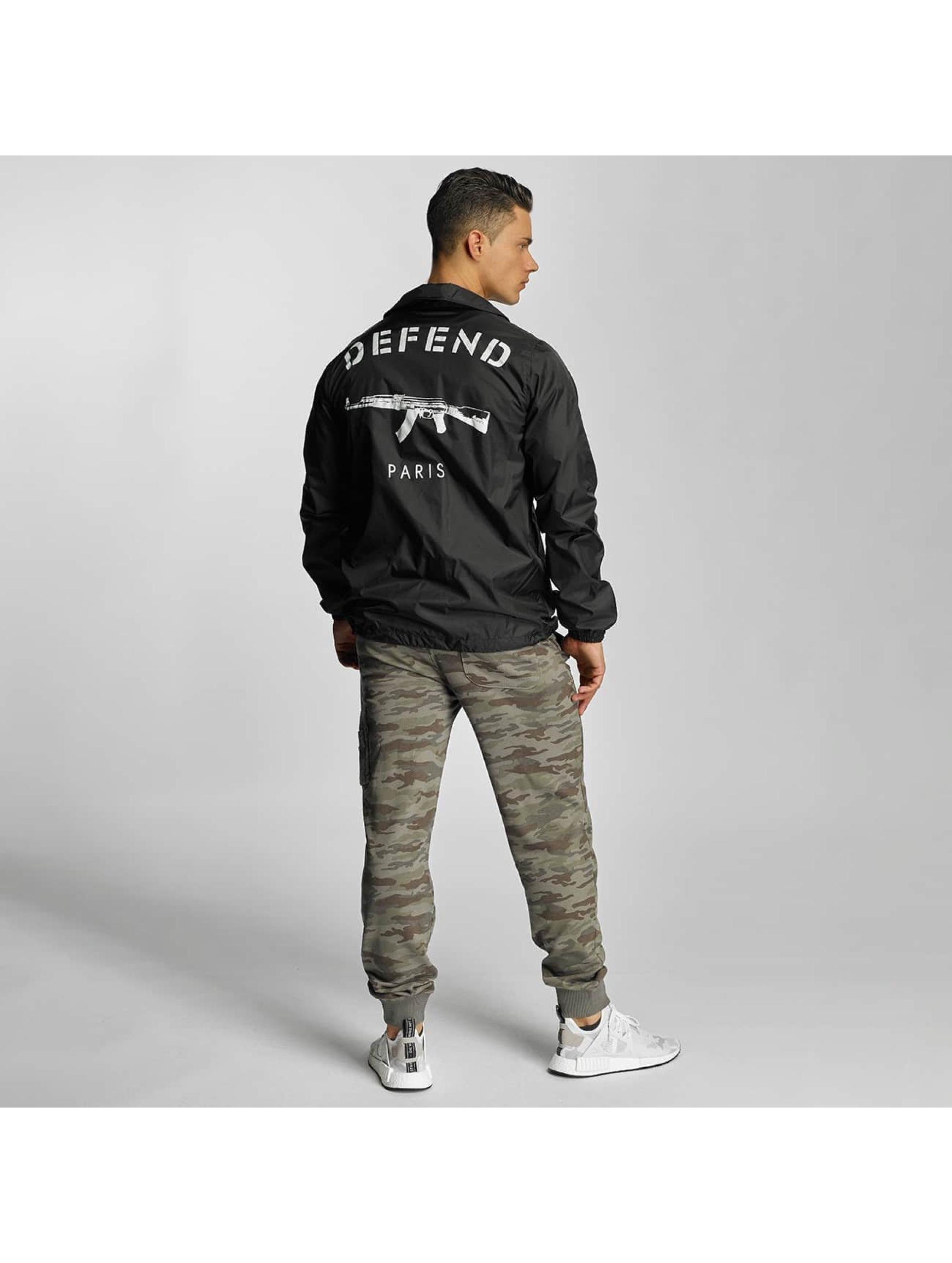 Defend Paris Lightweight Jacket Coat black