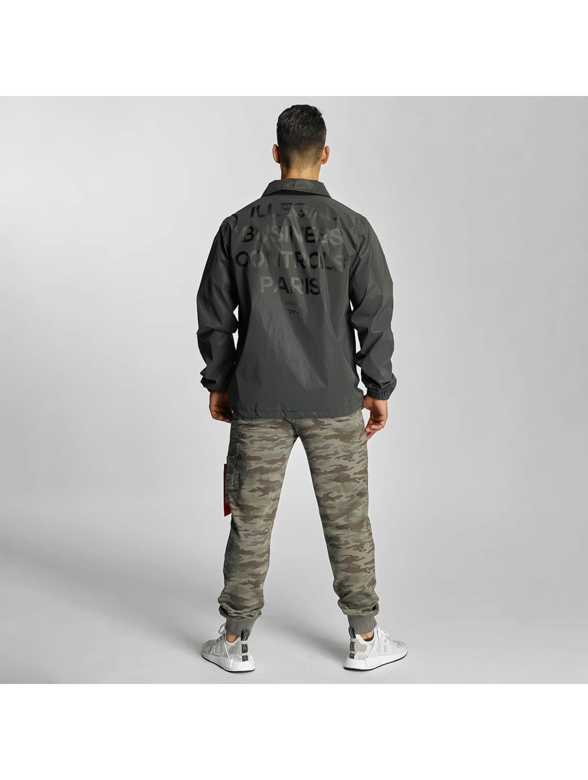 Defend Paris Lightweight Jacket Illegal black