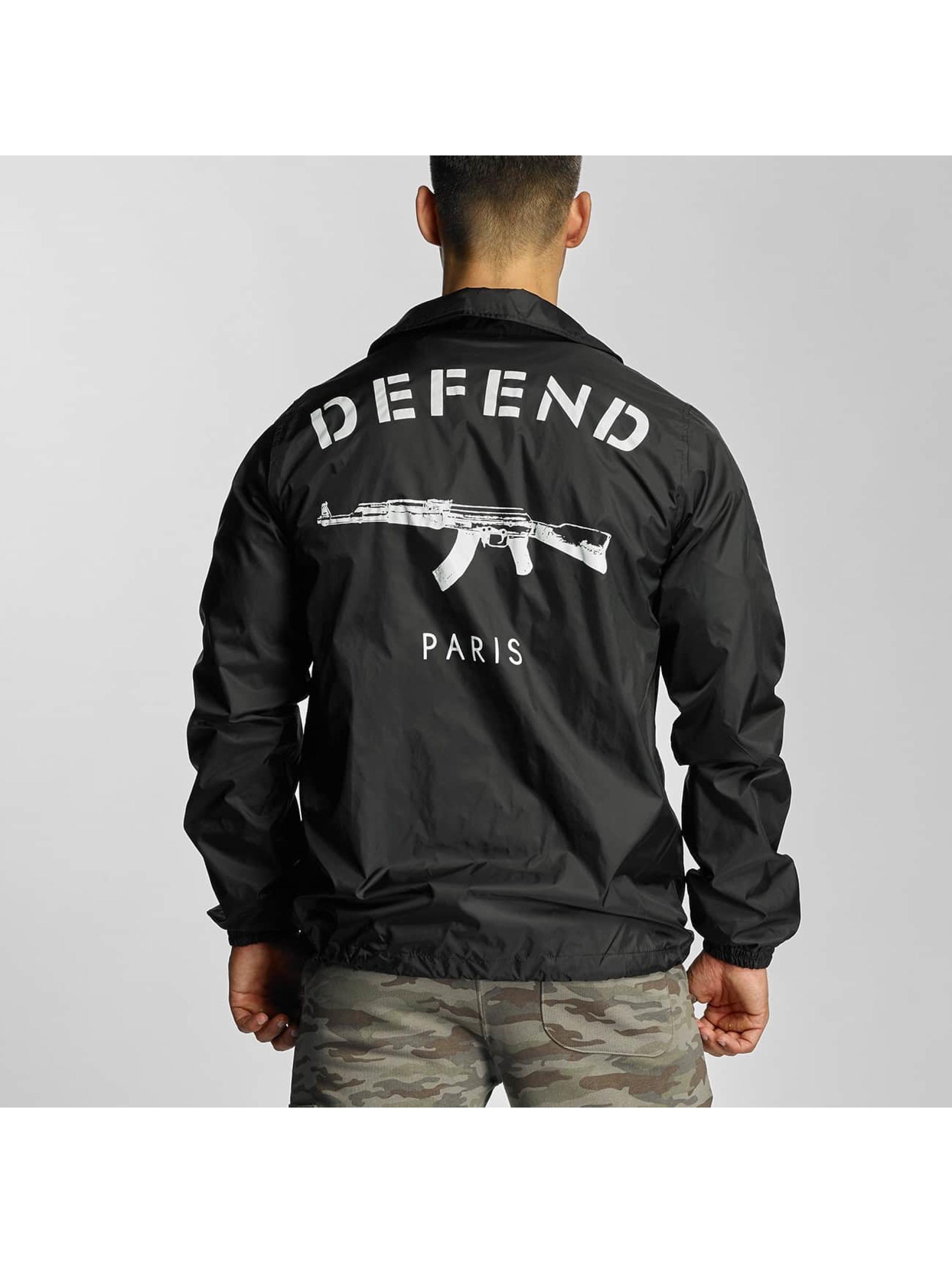 Defend Paris Prechodné vetrovky Coat èierna
