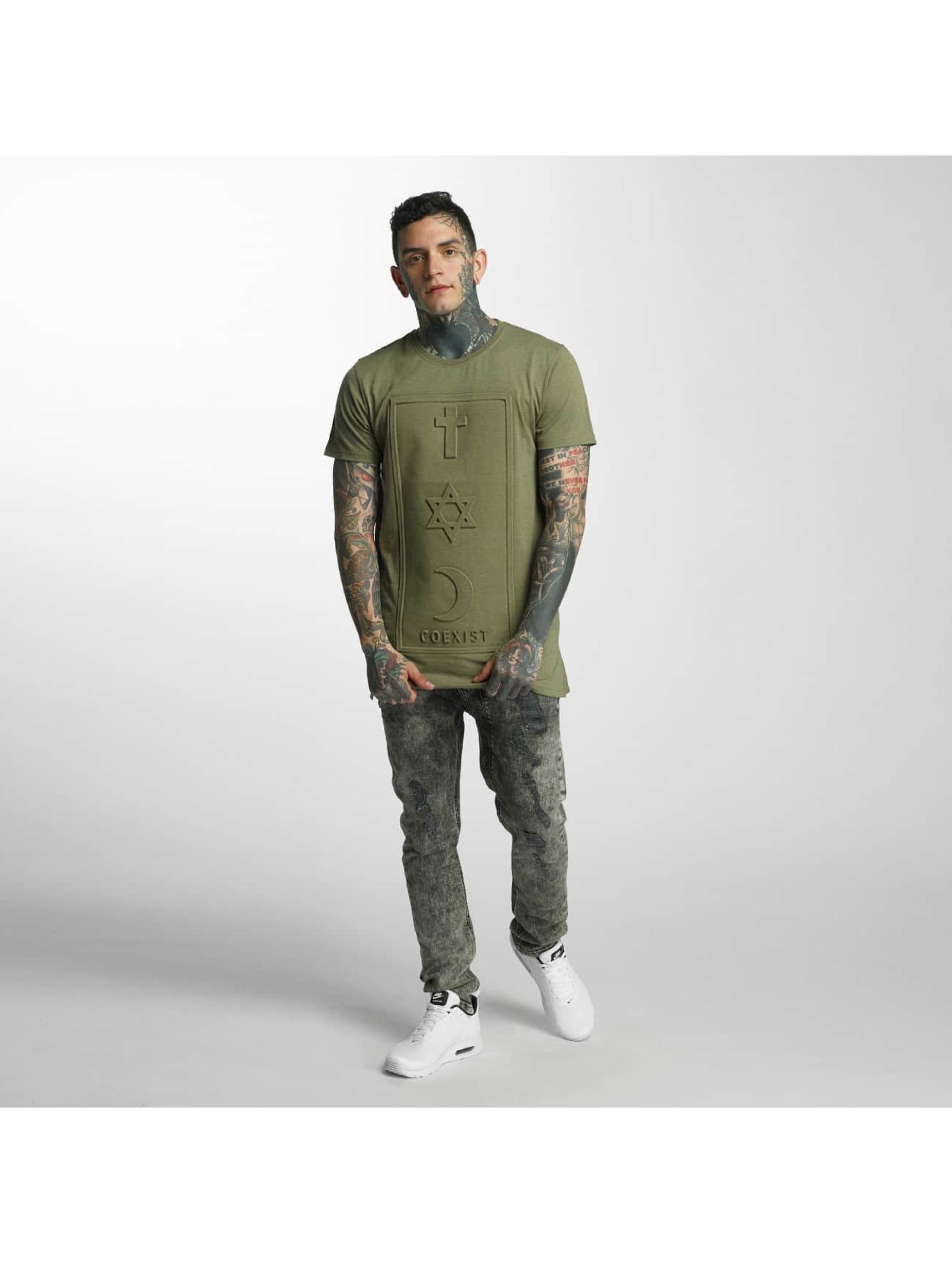 Defend Paris T-Shirt CO 3D khaki