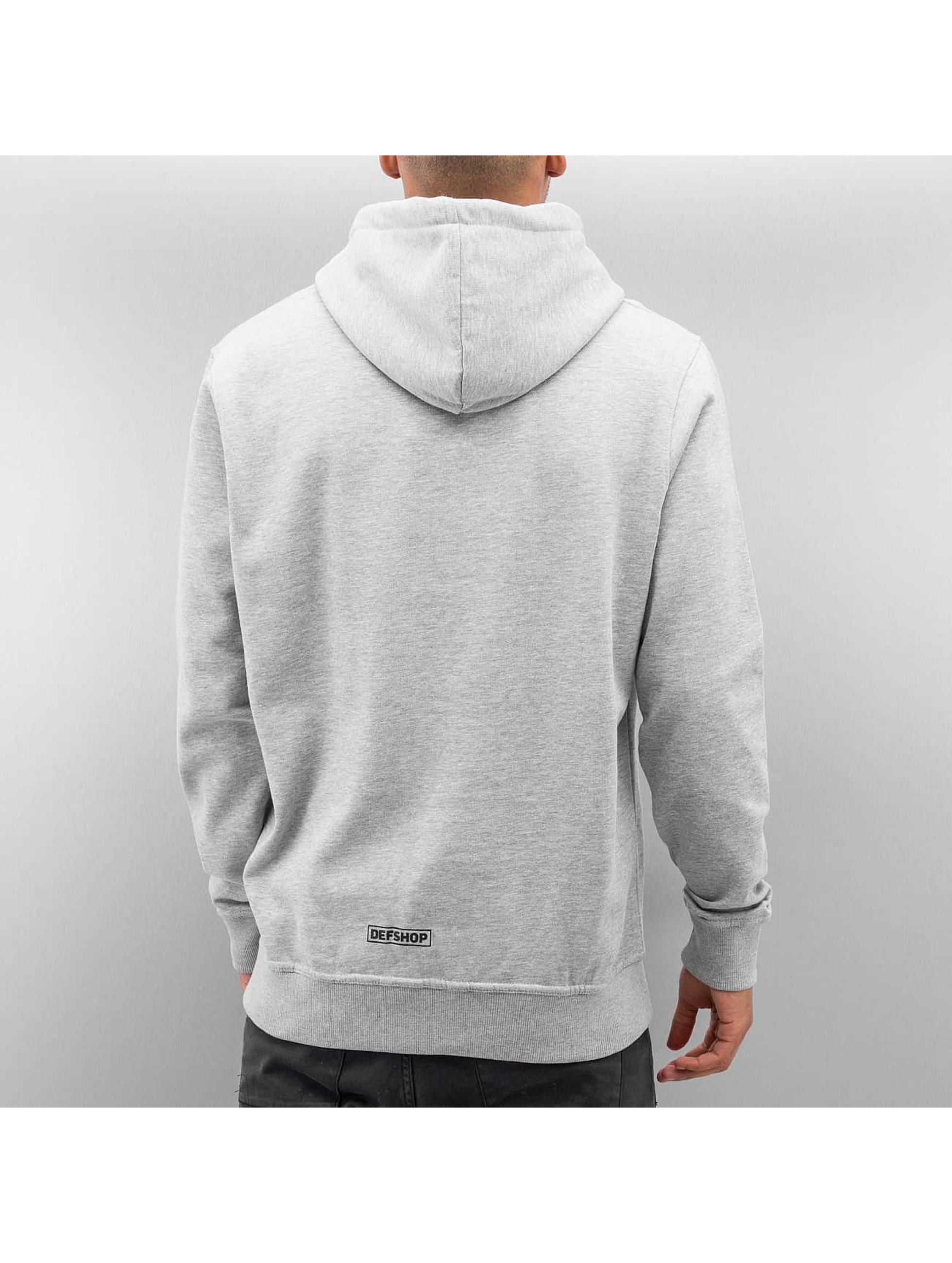 DefShop Hoodie Logo grey