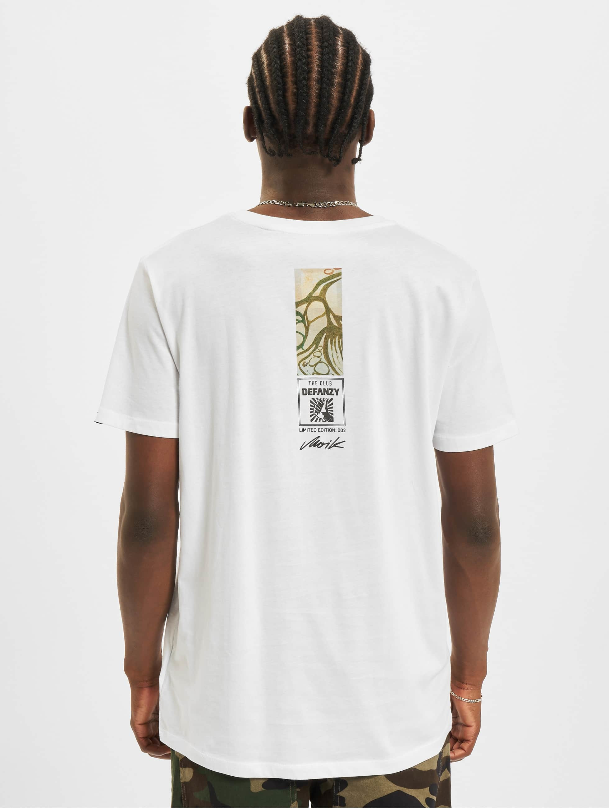 DefShop T-Shirt Art Of Now MOIK blanc