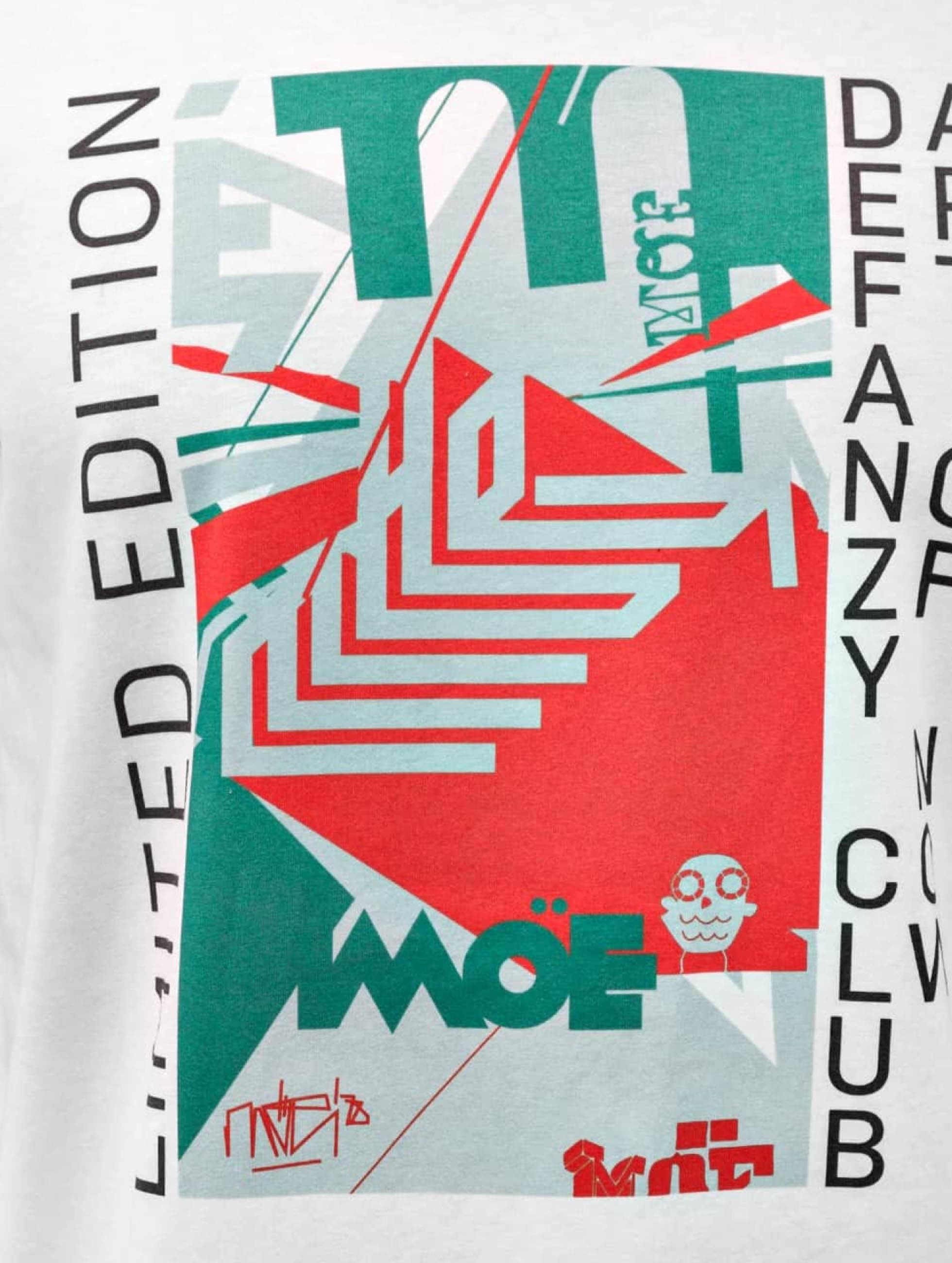DefShop T-Shirt Art Of Now MÖE blanc