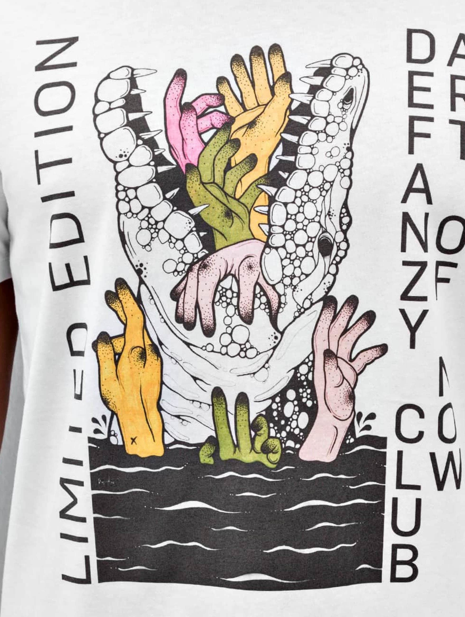 DefShop T-Shirt Art Of Now Kaja Hort white