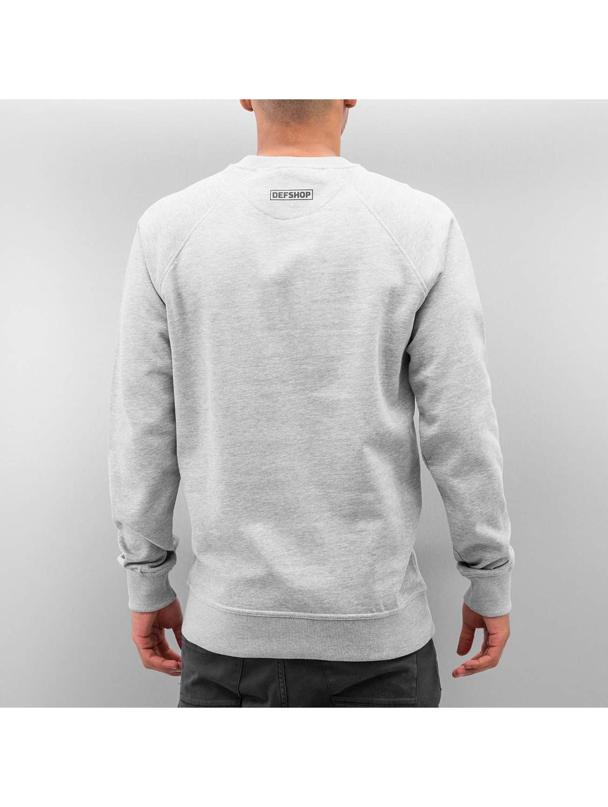 DefShop Tröja Logo grå