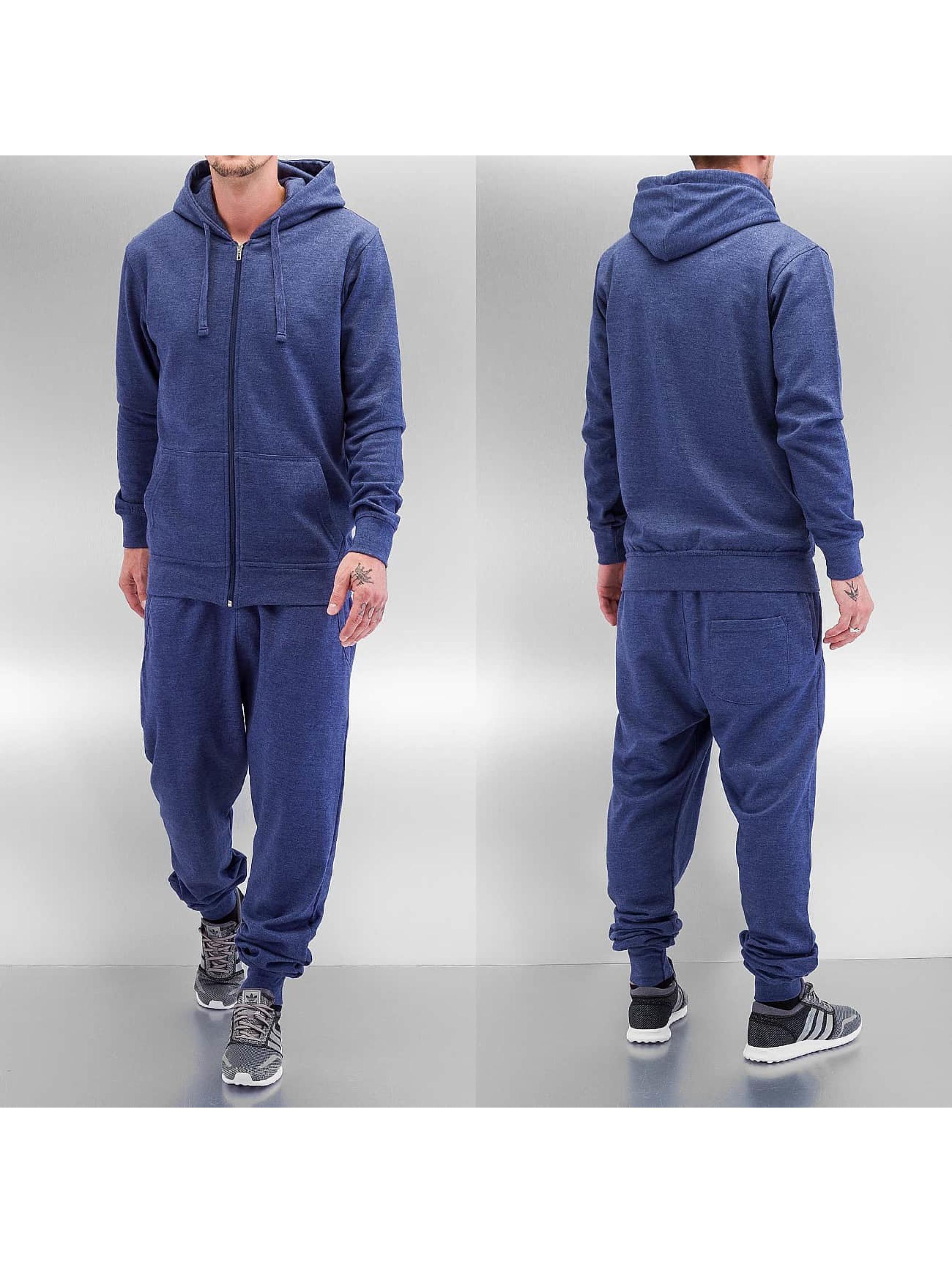 Dehash Anzug Basic blau