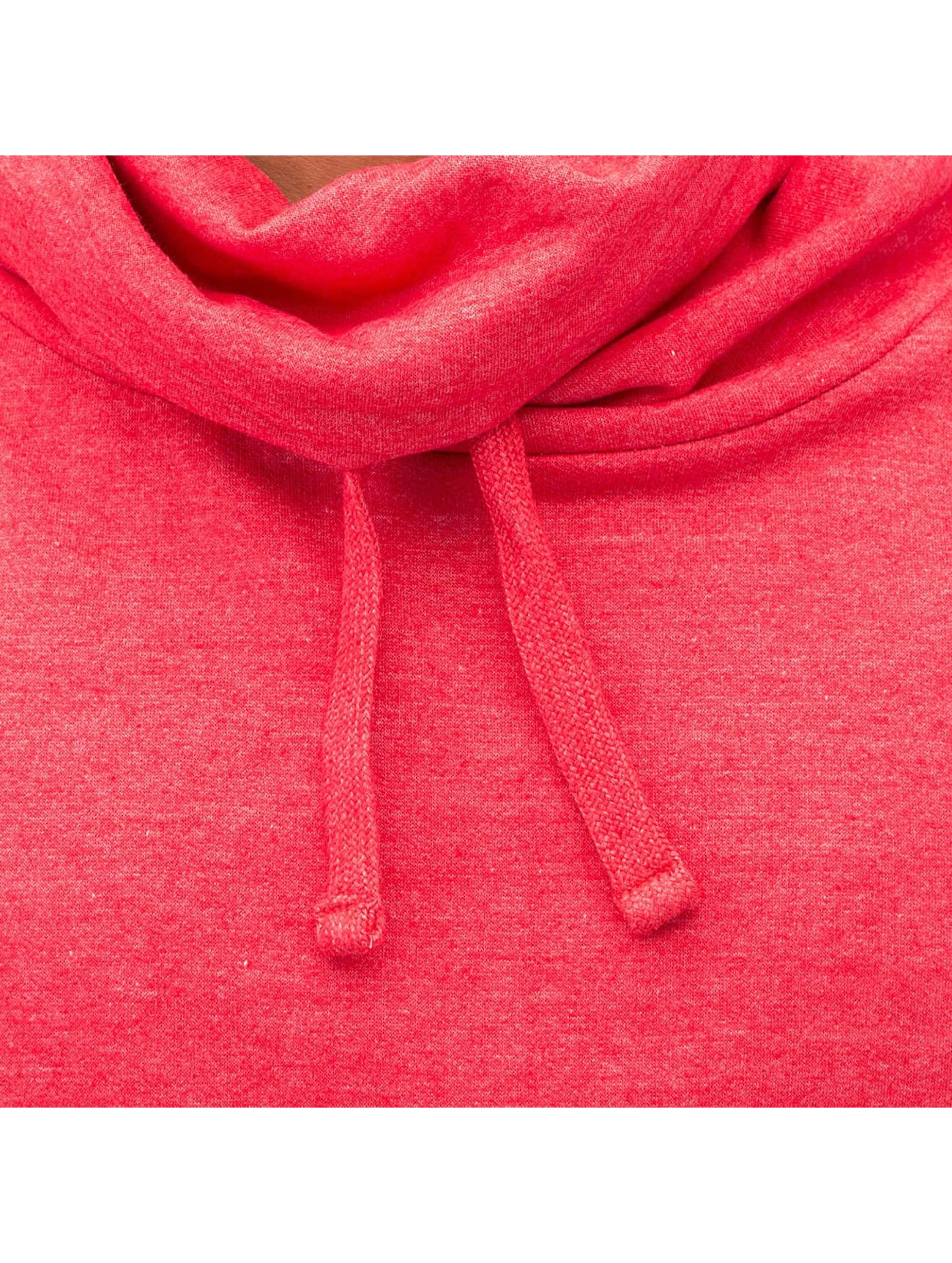 Dehash Pullover Turtleneck rot