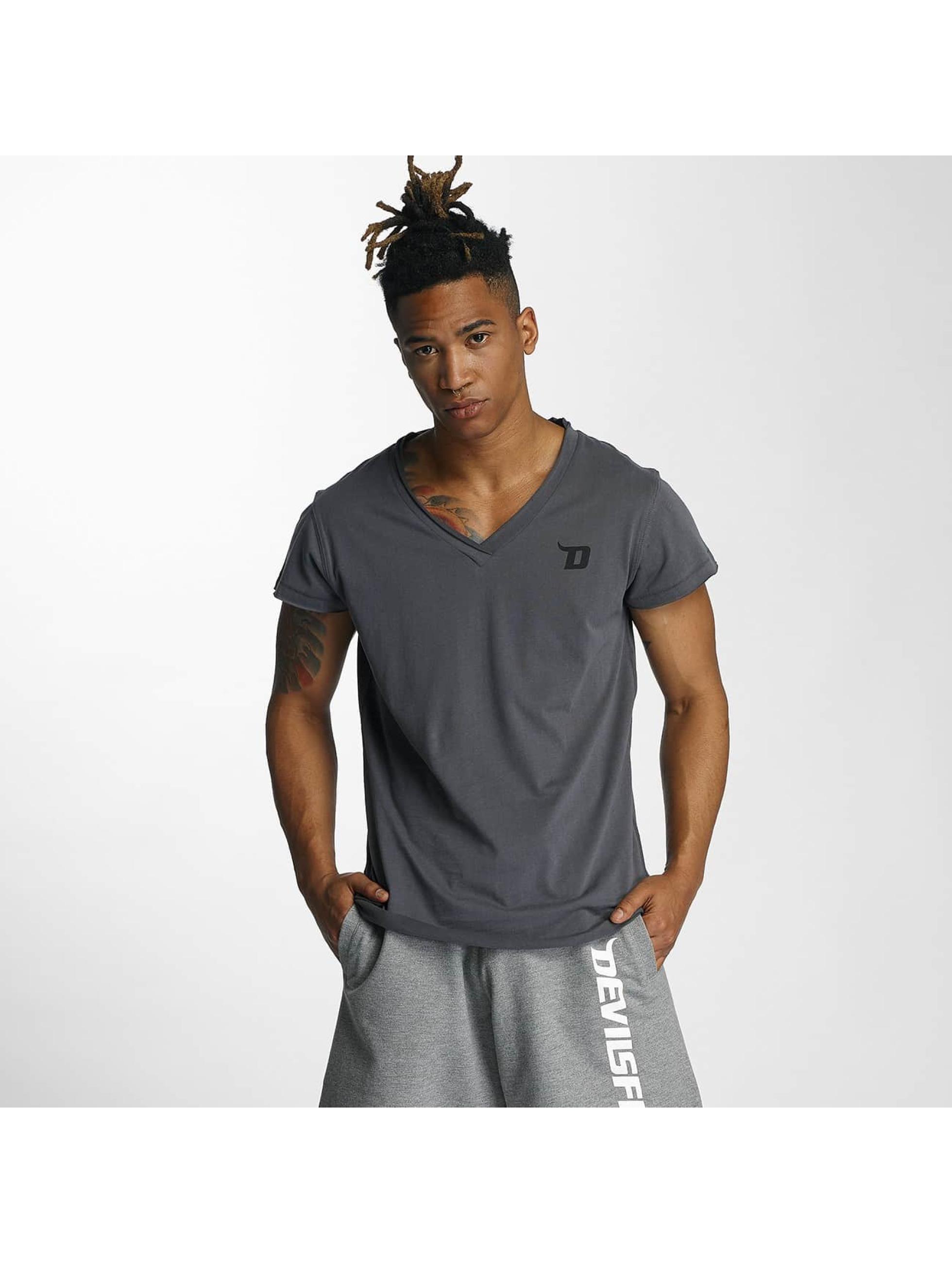 Devilsfruit T-Shirt Open grey