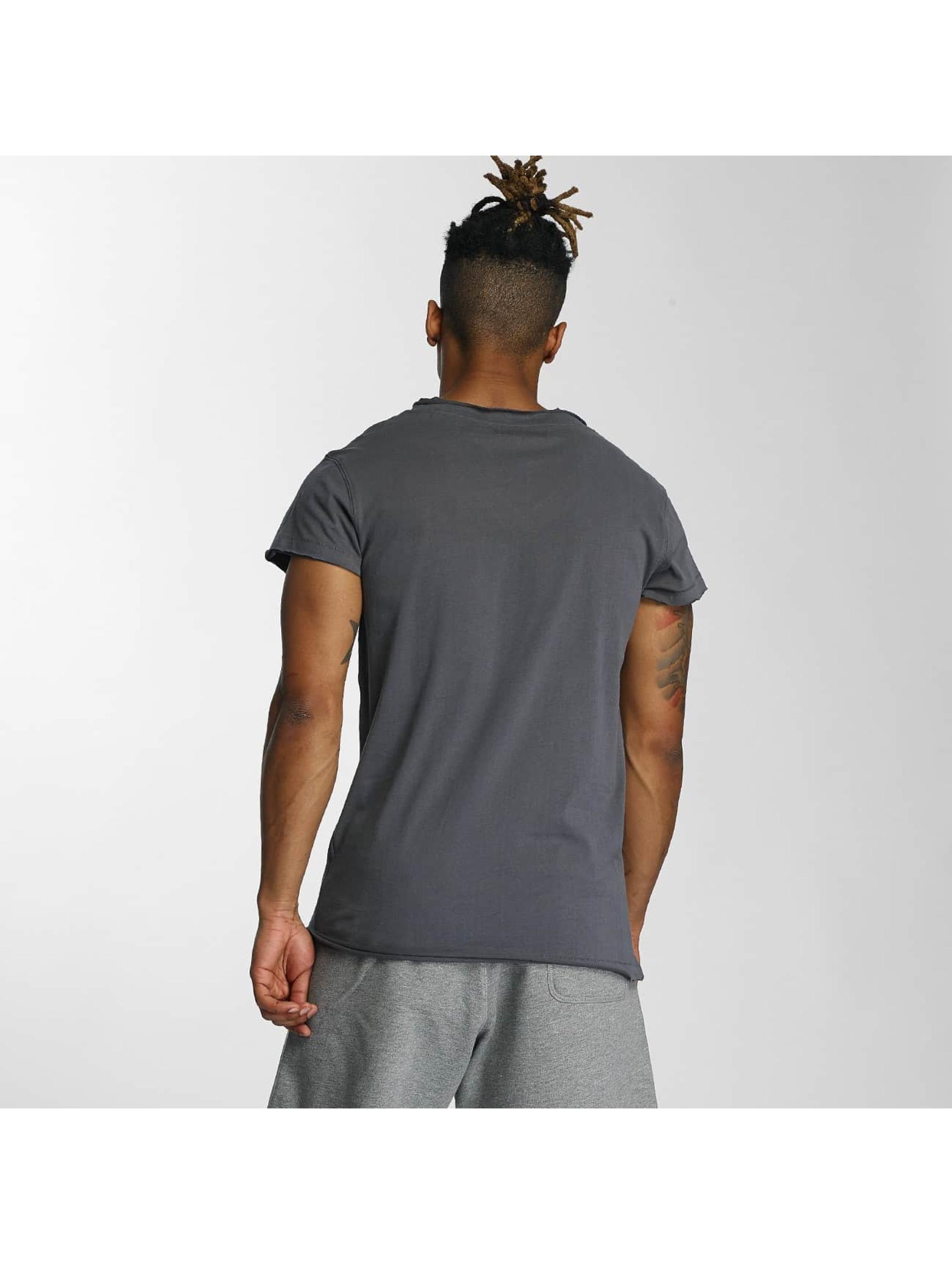 Devilsfruit t-shirt Open grijs