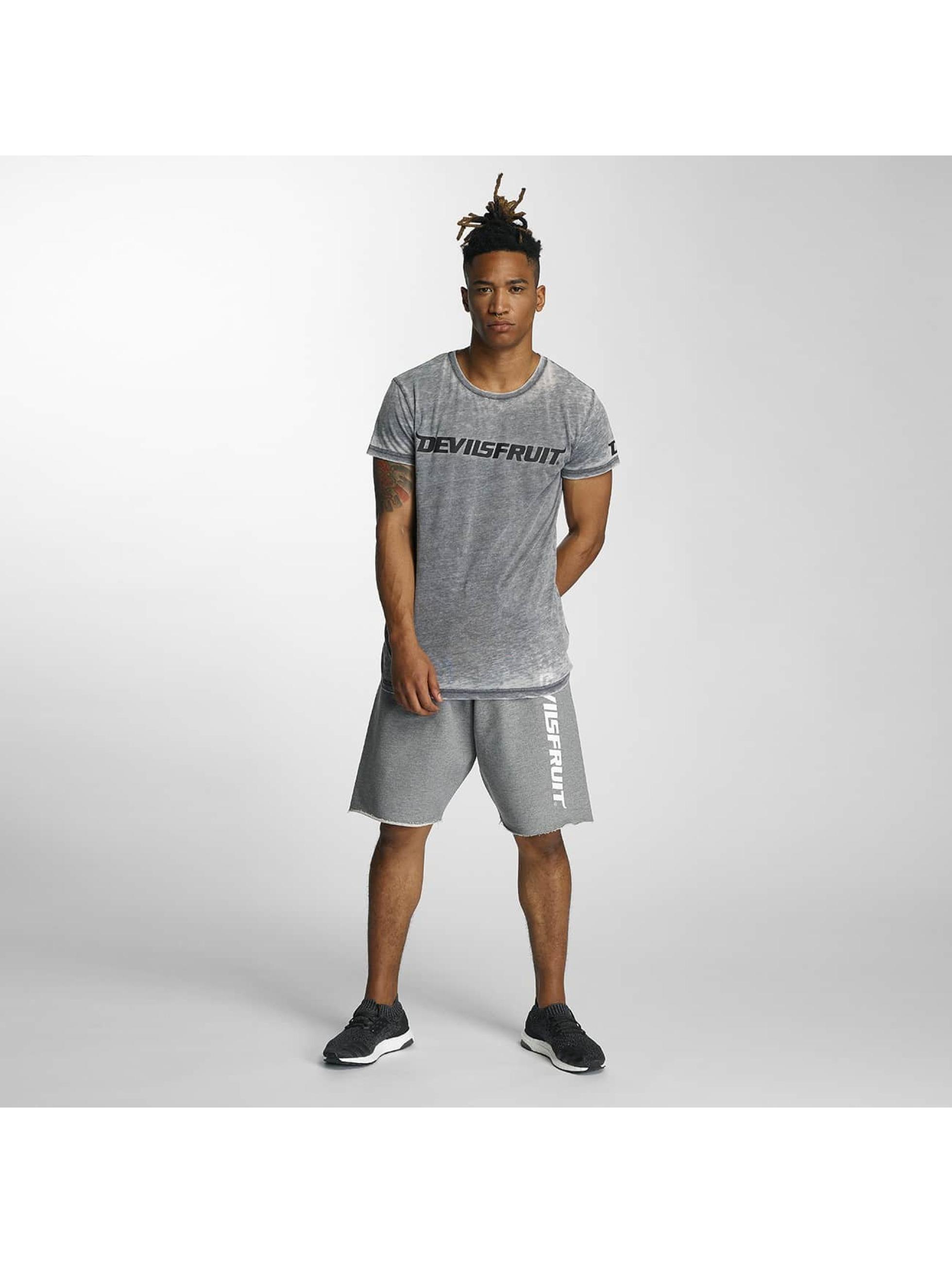 Devilsfruit T-skjorter Ransome grå
