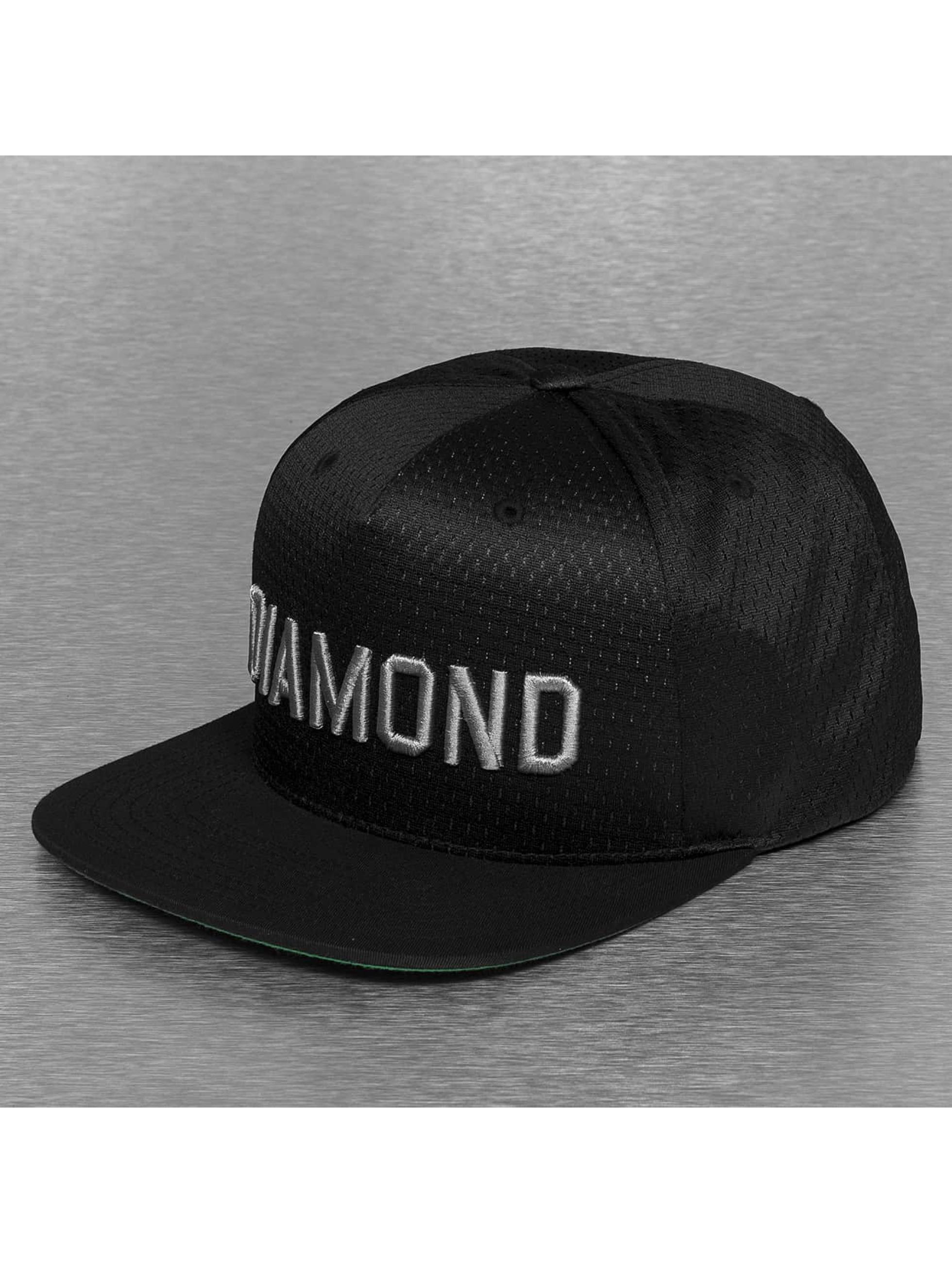 Diamond Кепка с застёжкой Jackson черный