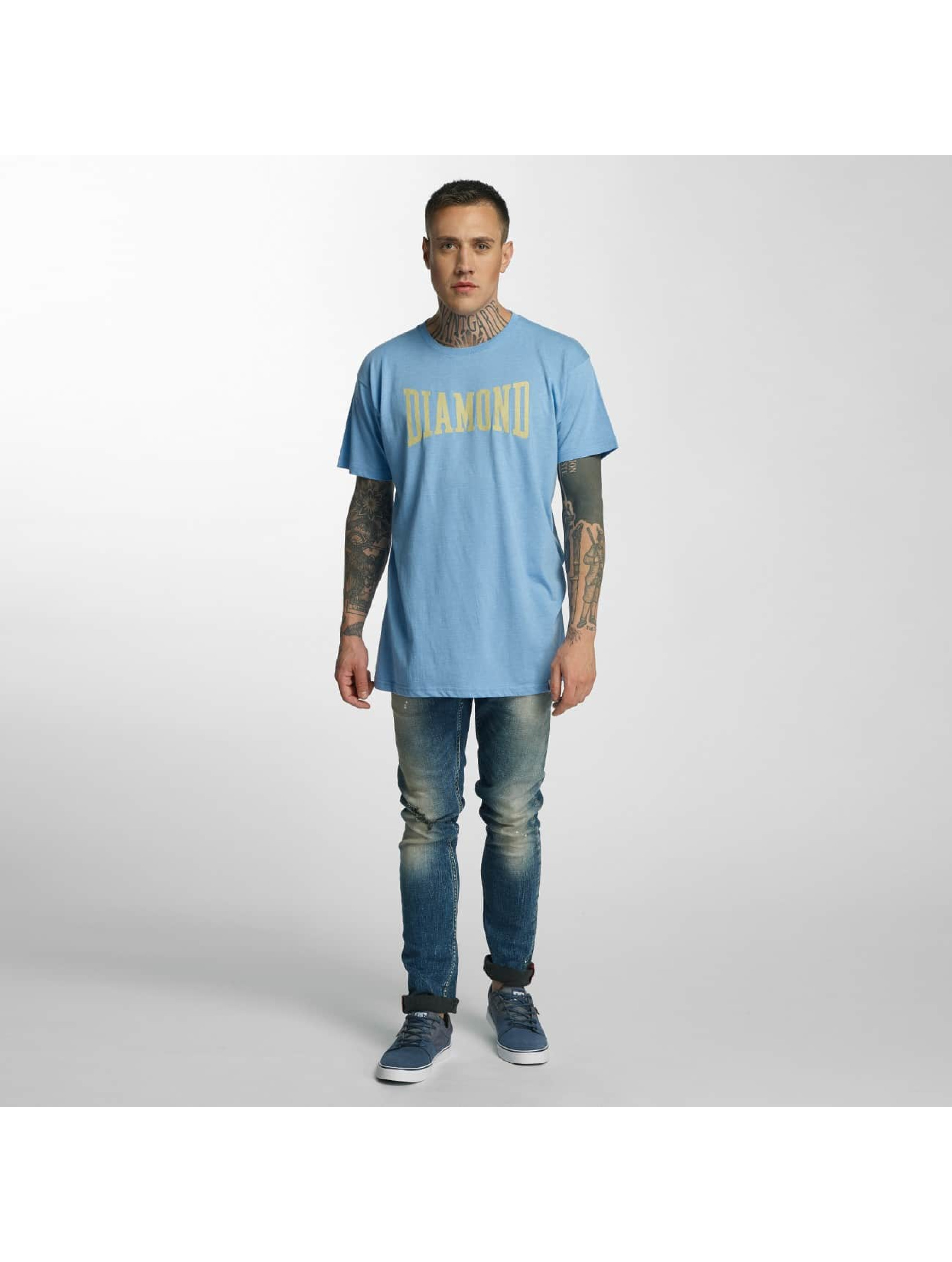 Diamond t-shirt Crescendo blauw