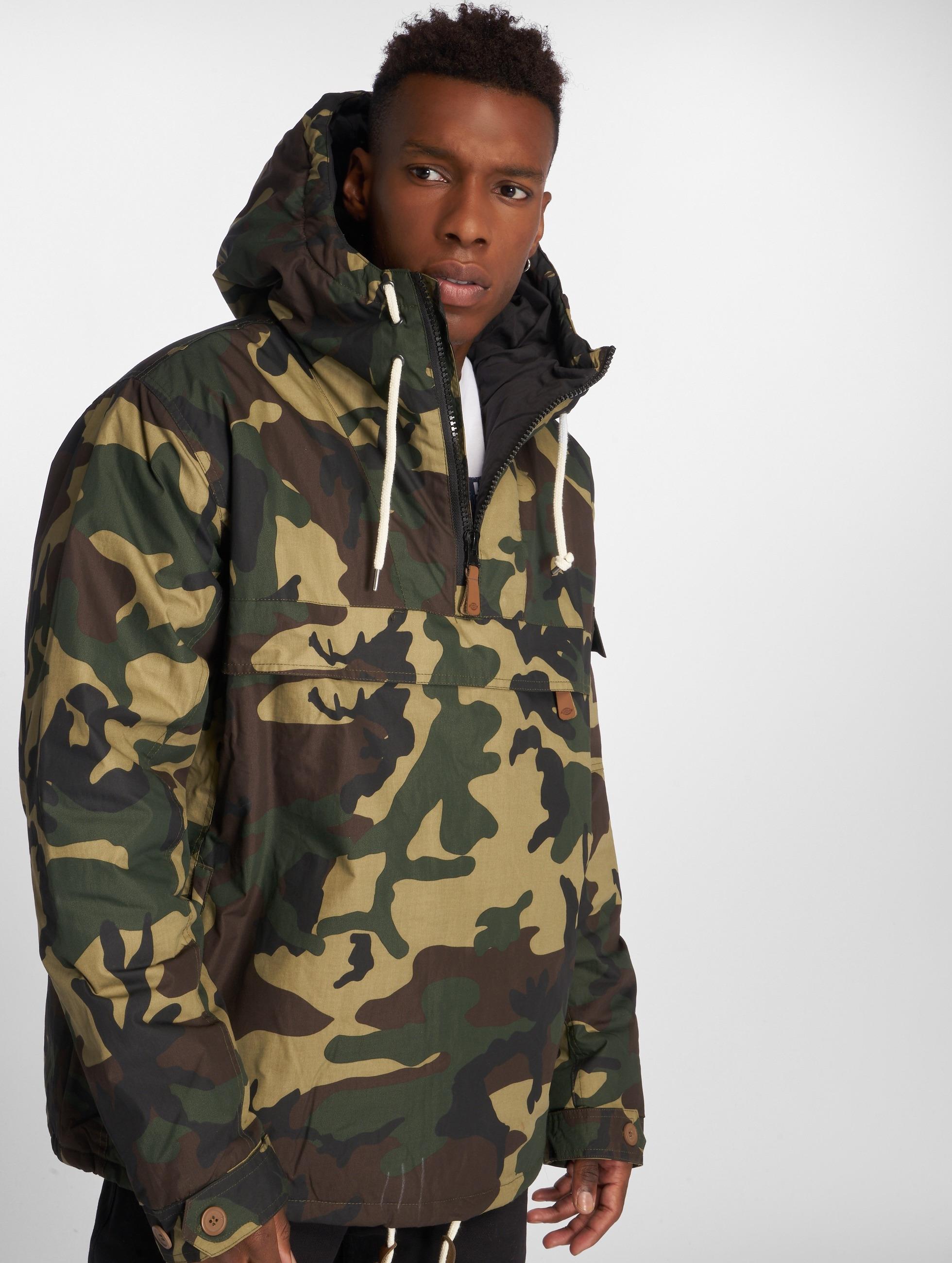 Dickies Демисезонная куртка Milford камуфляж