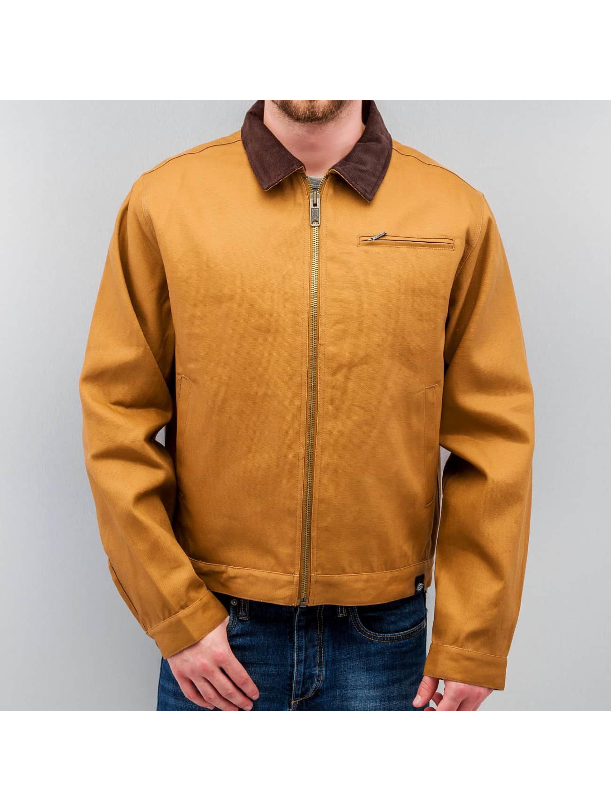 Dickies Демисезонная куртка Blanket Lined Duck коричневый
