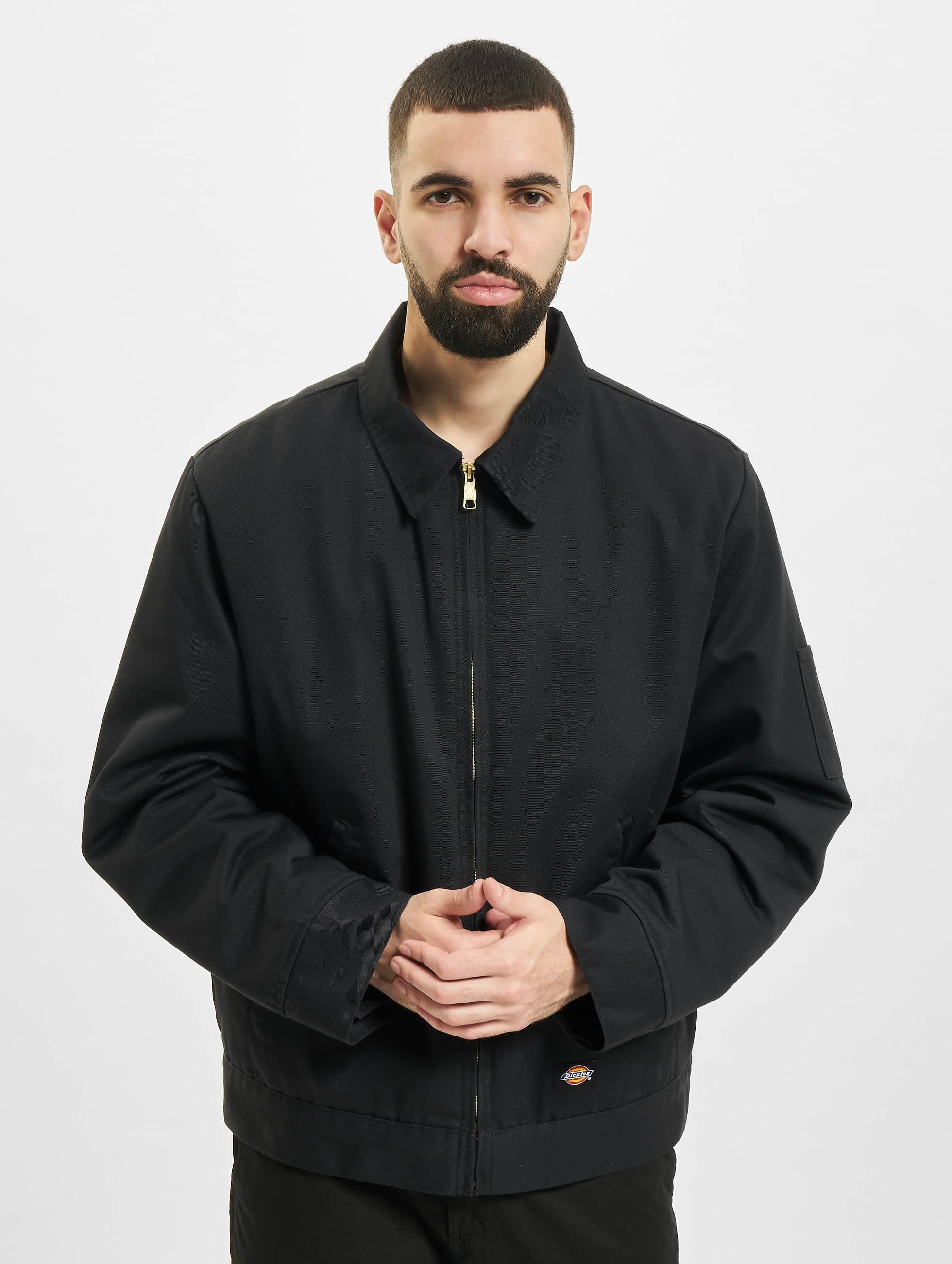 Dickies Демисезонная куртка Lined Eisenhower черный