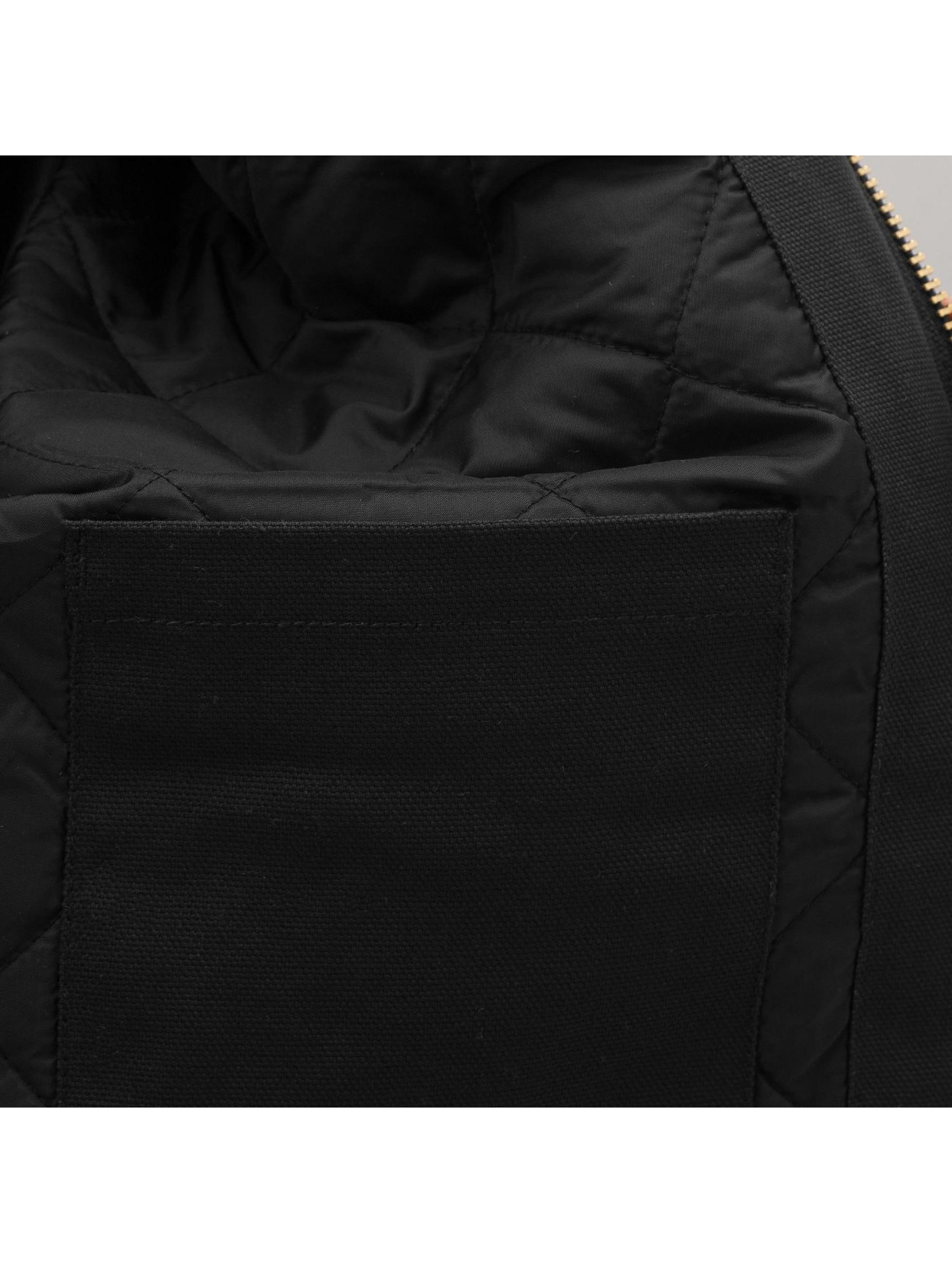 Dickies Зимняя куртка Rigid Duck Hooded черный