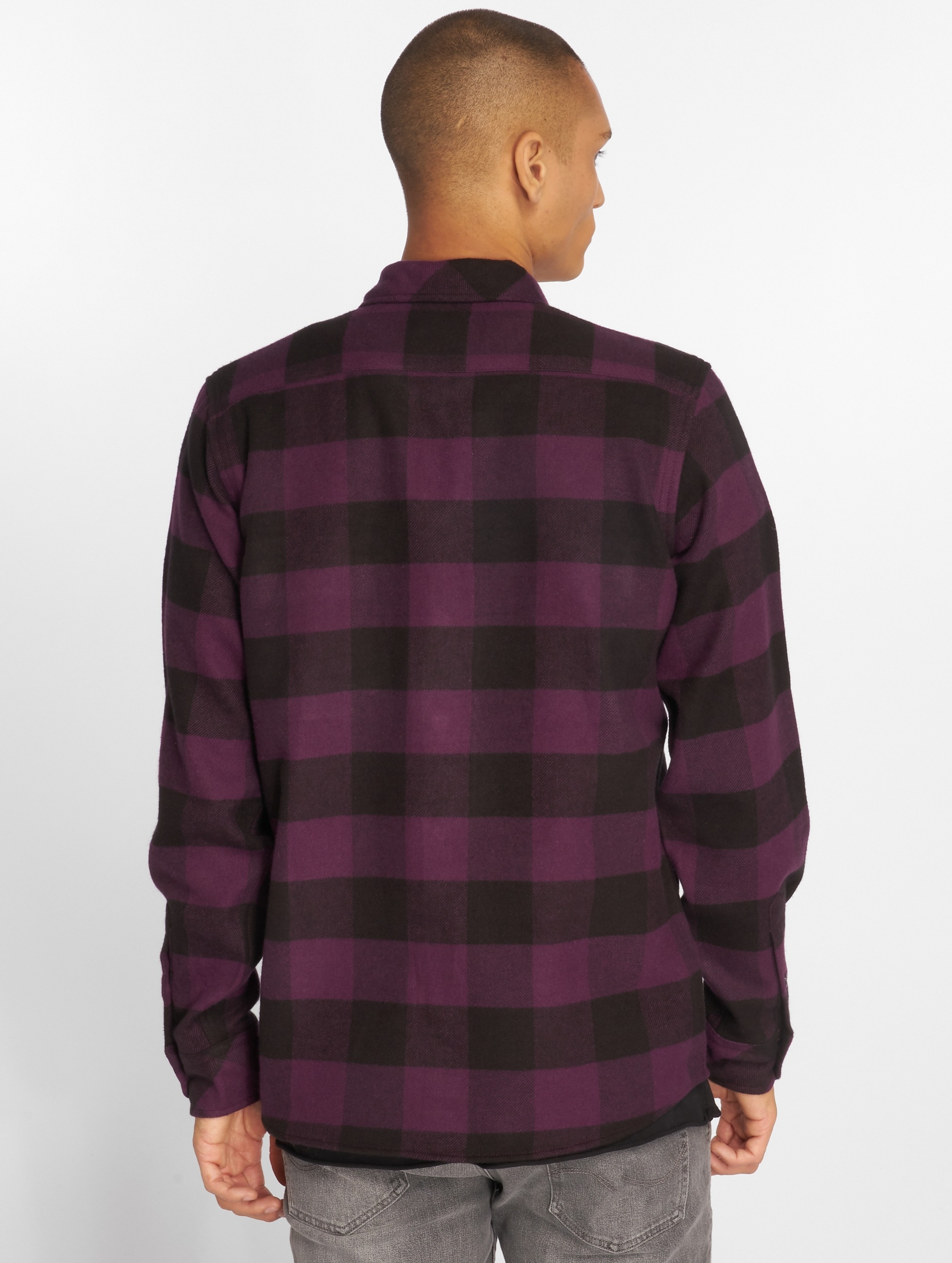 Dickies Рубашка Sacramento пурпурный
