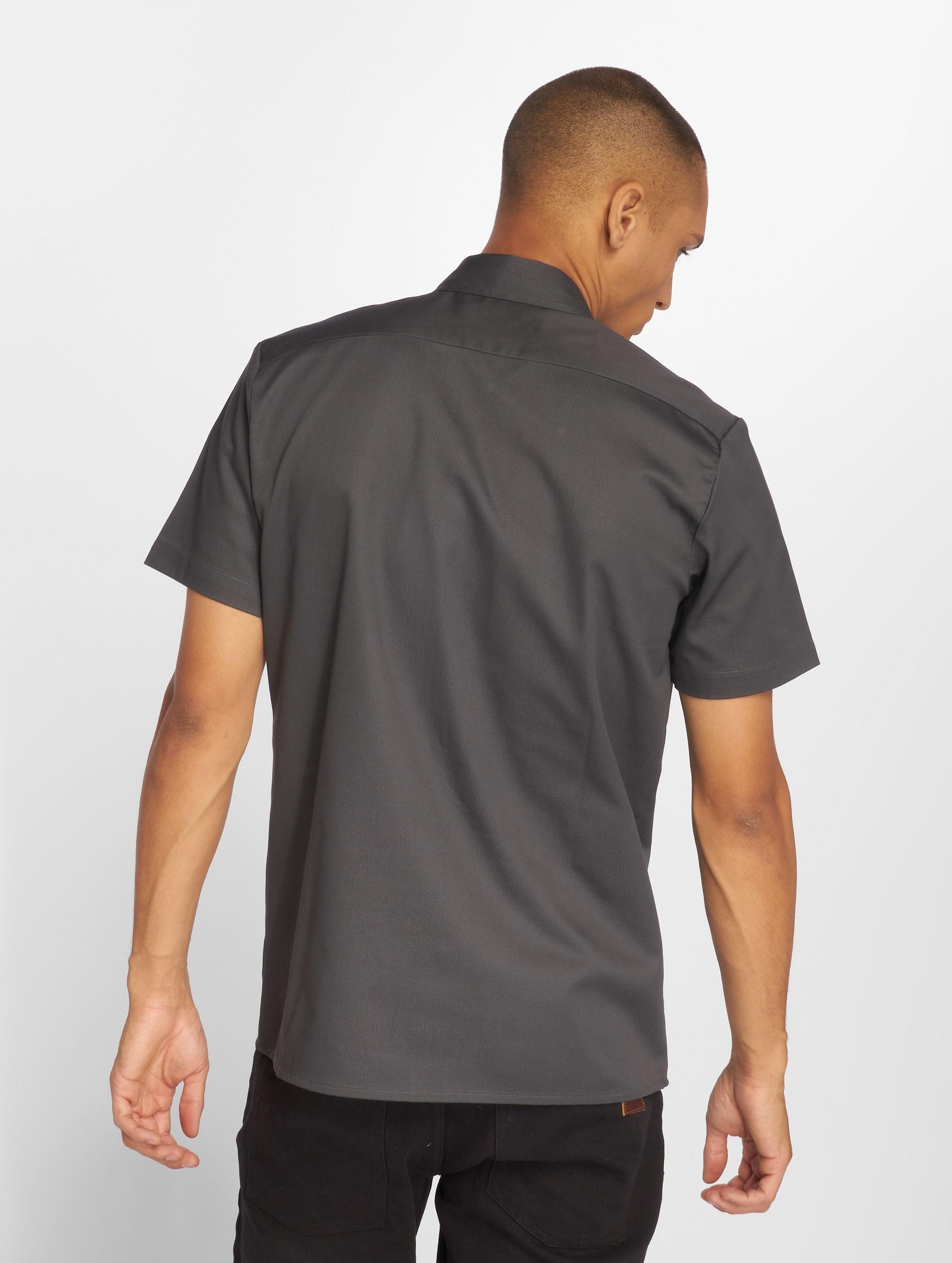 Dickies Рубашка Rotonda South серый