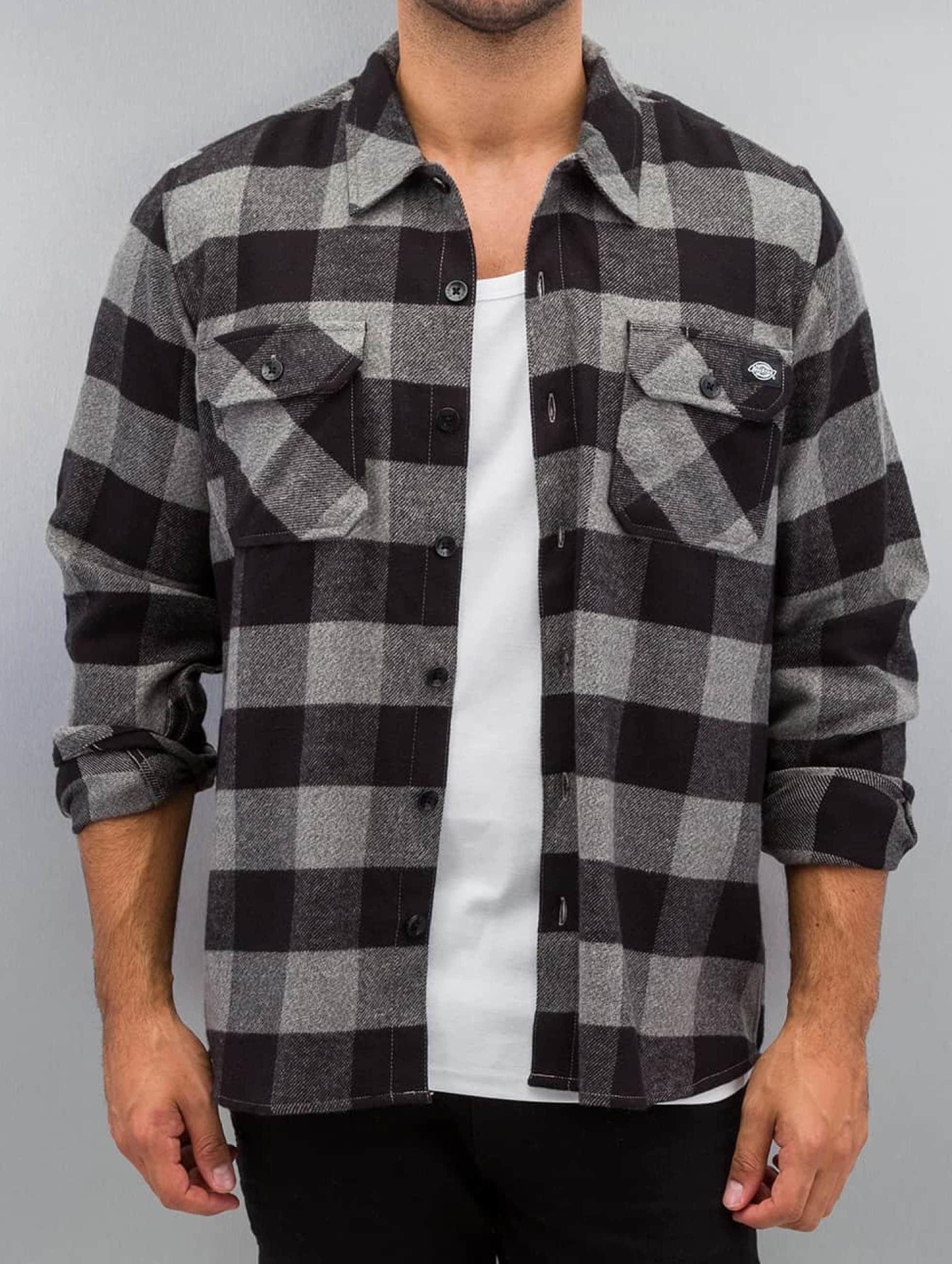 Dickies Рубашка Sacramento серый