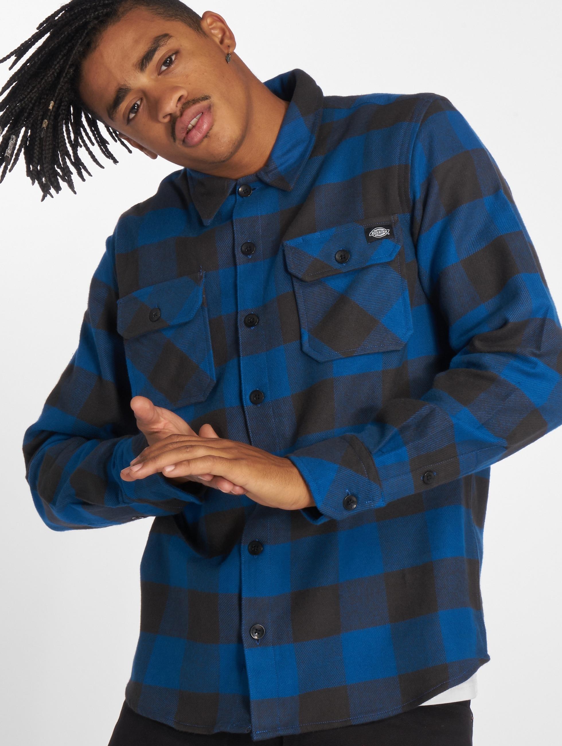Dickies Рубашка Sacramento синий
