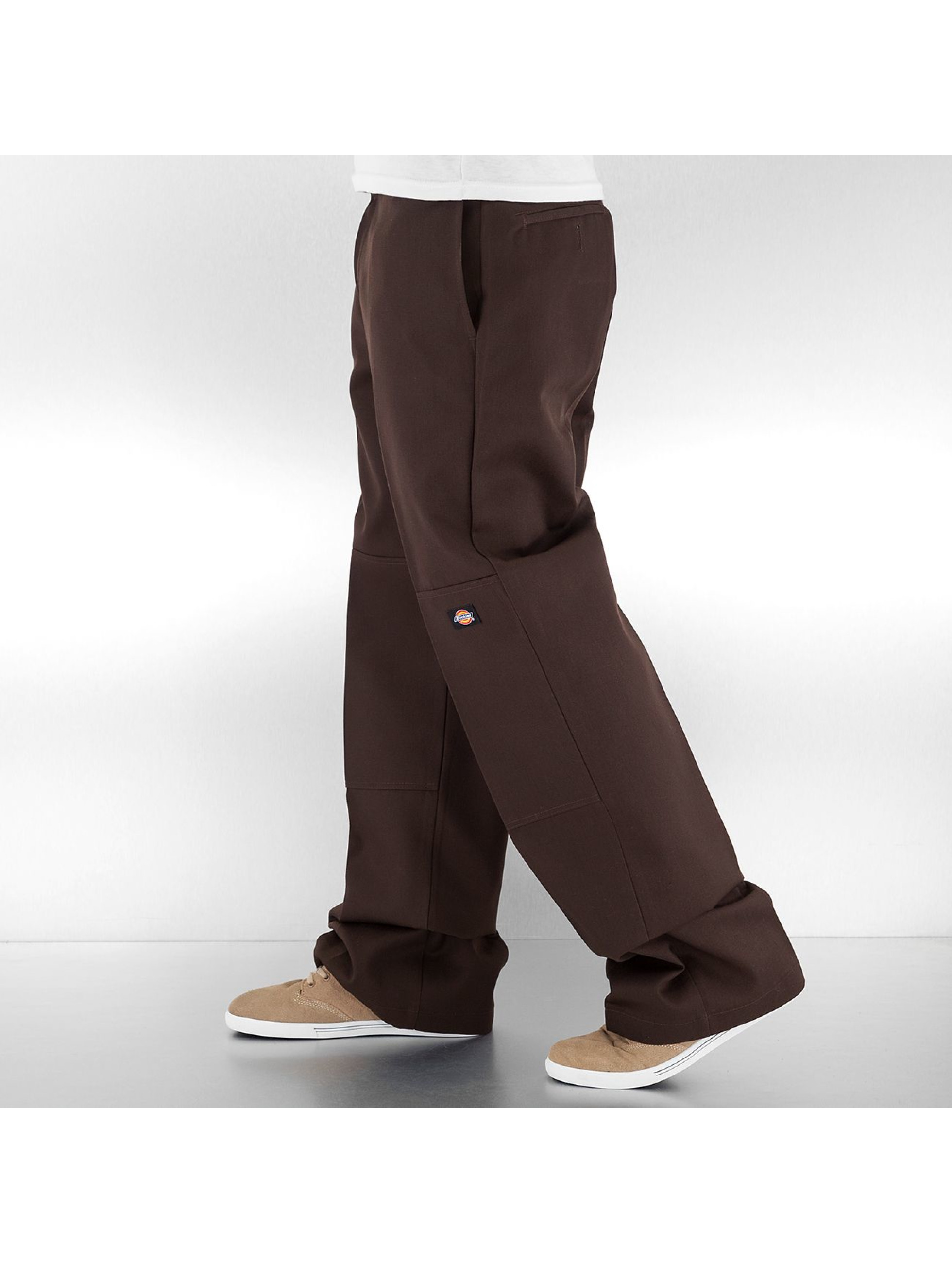Dickies Чинос Double Knee Work коричневый