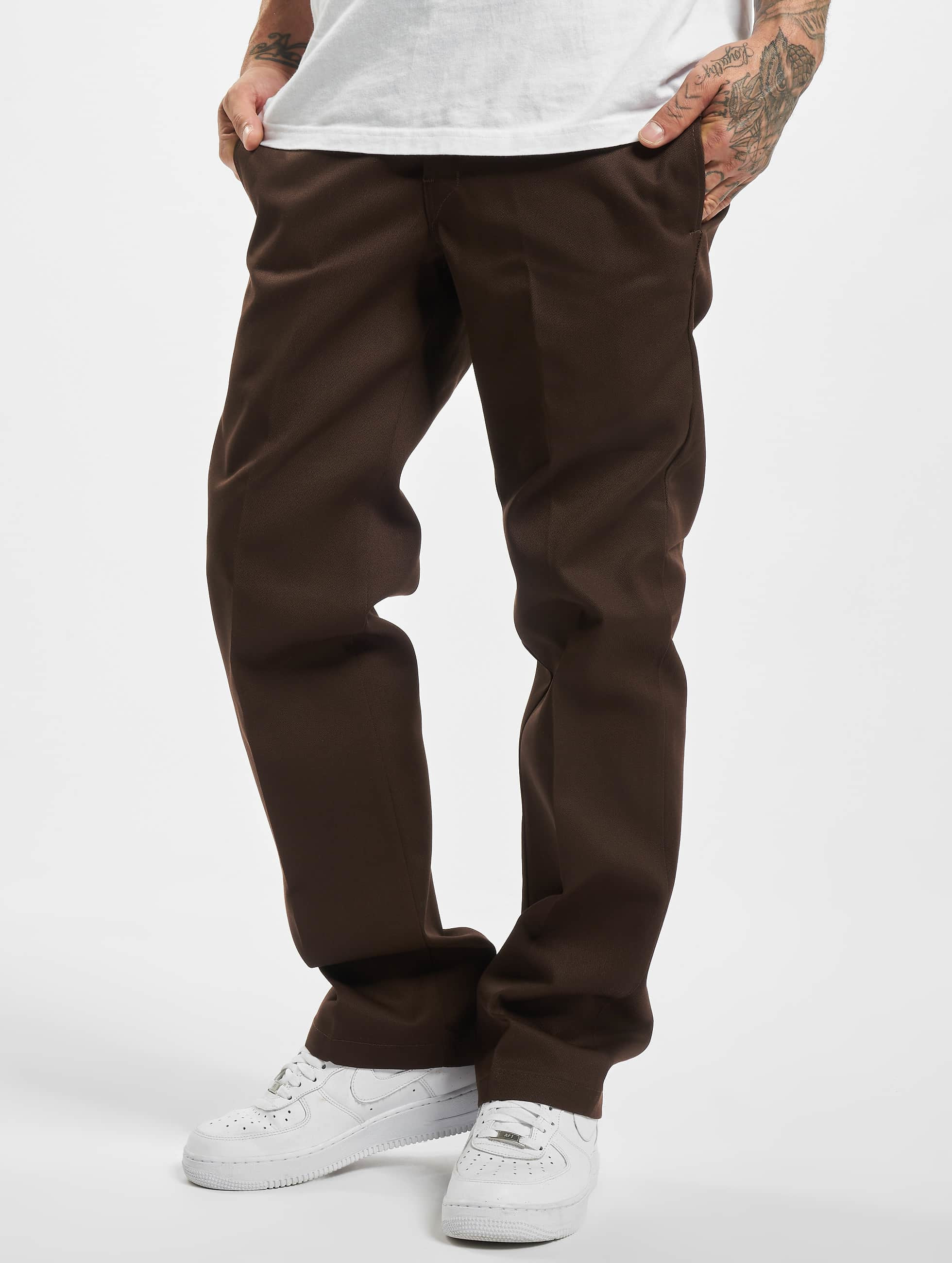 Dickies Чинос Slim Straight Work коричневый