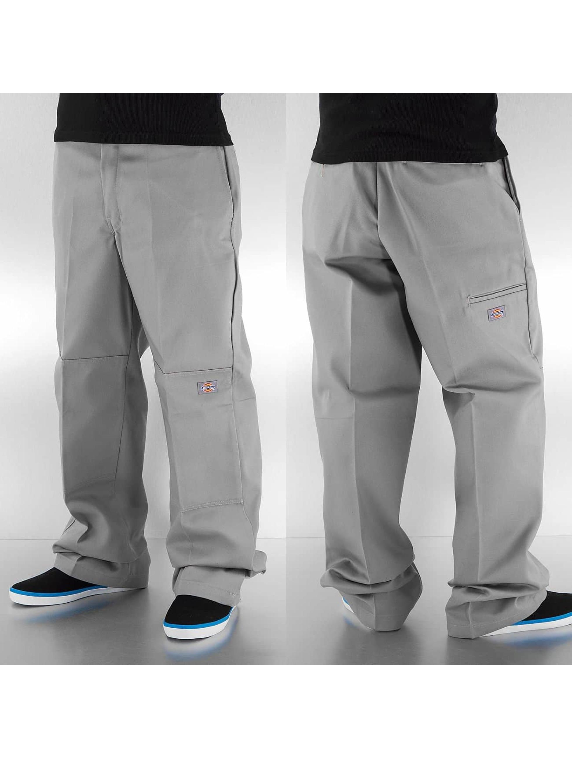 Dickies Чинос Double Knee Work серый