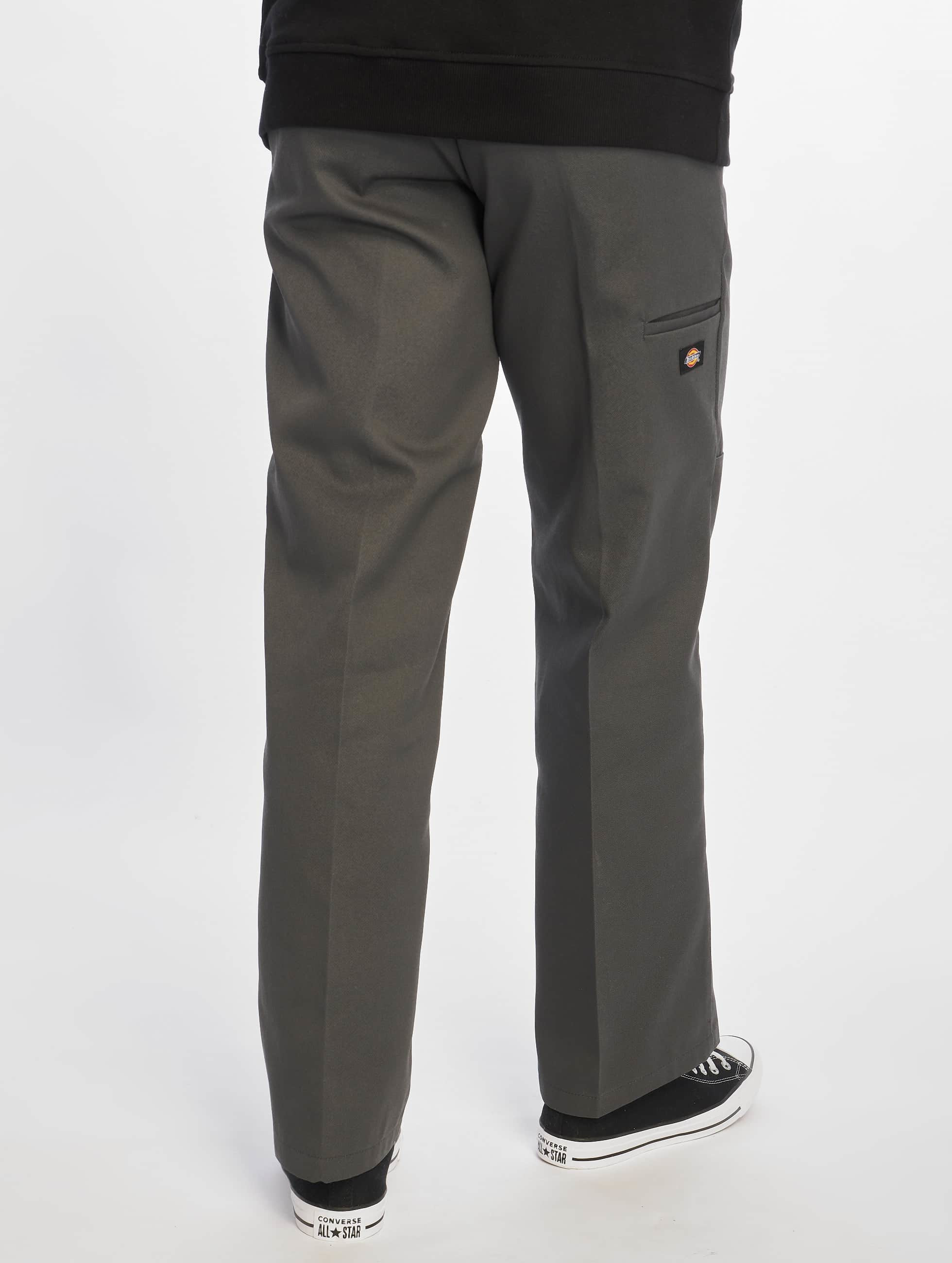 Dickies Чинос Double Knee Work серый