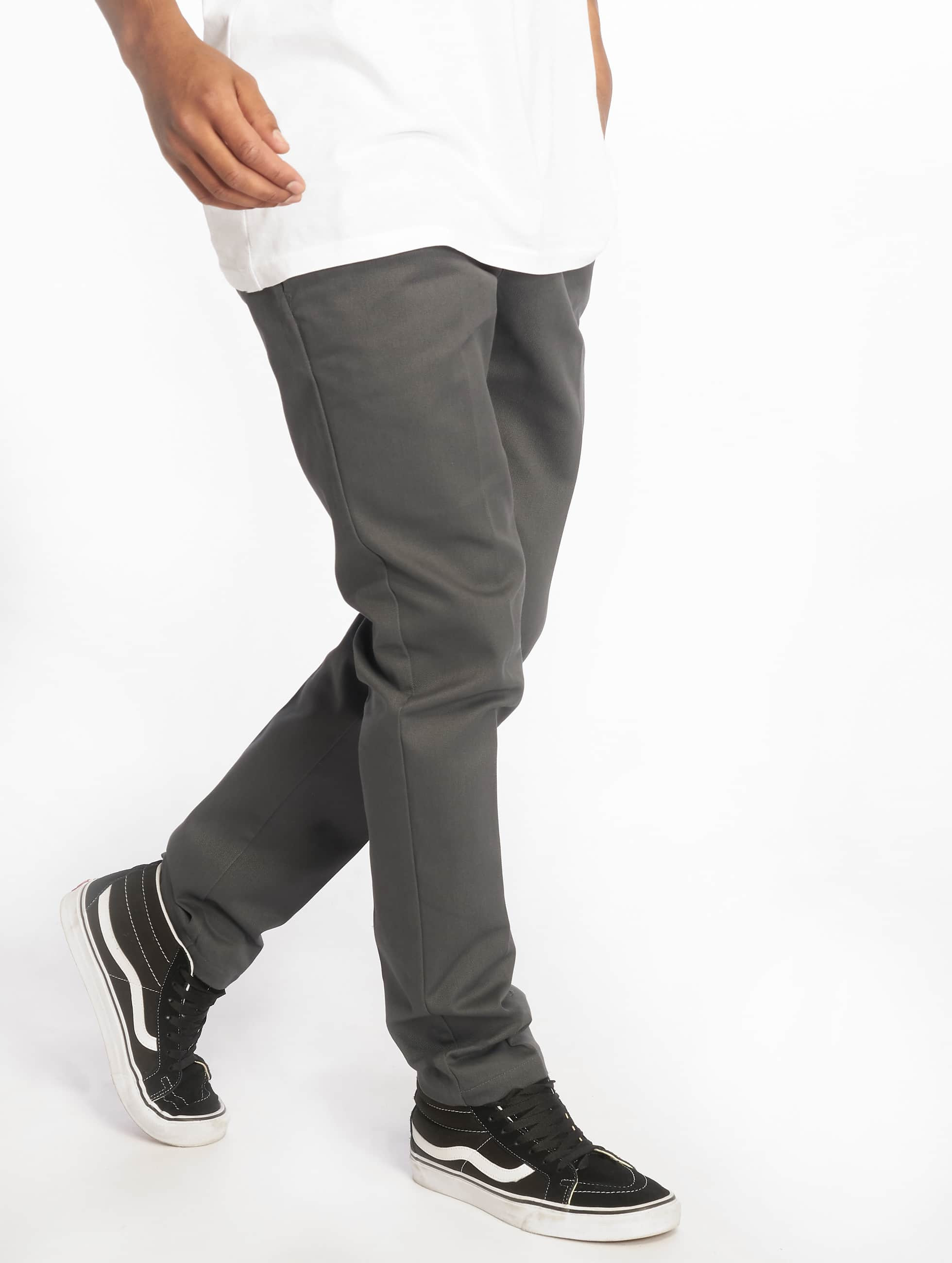 Dickies Чинос Slim Fit Work серый