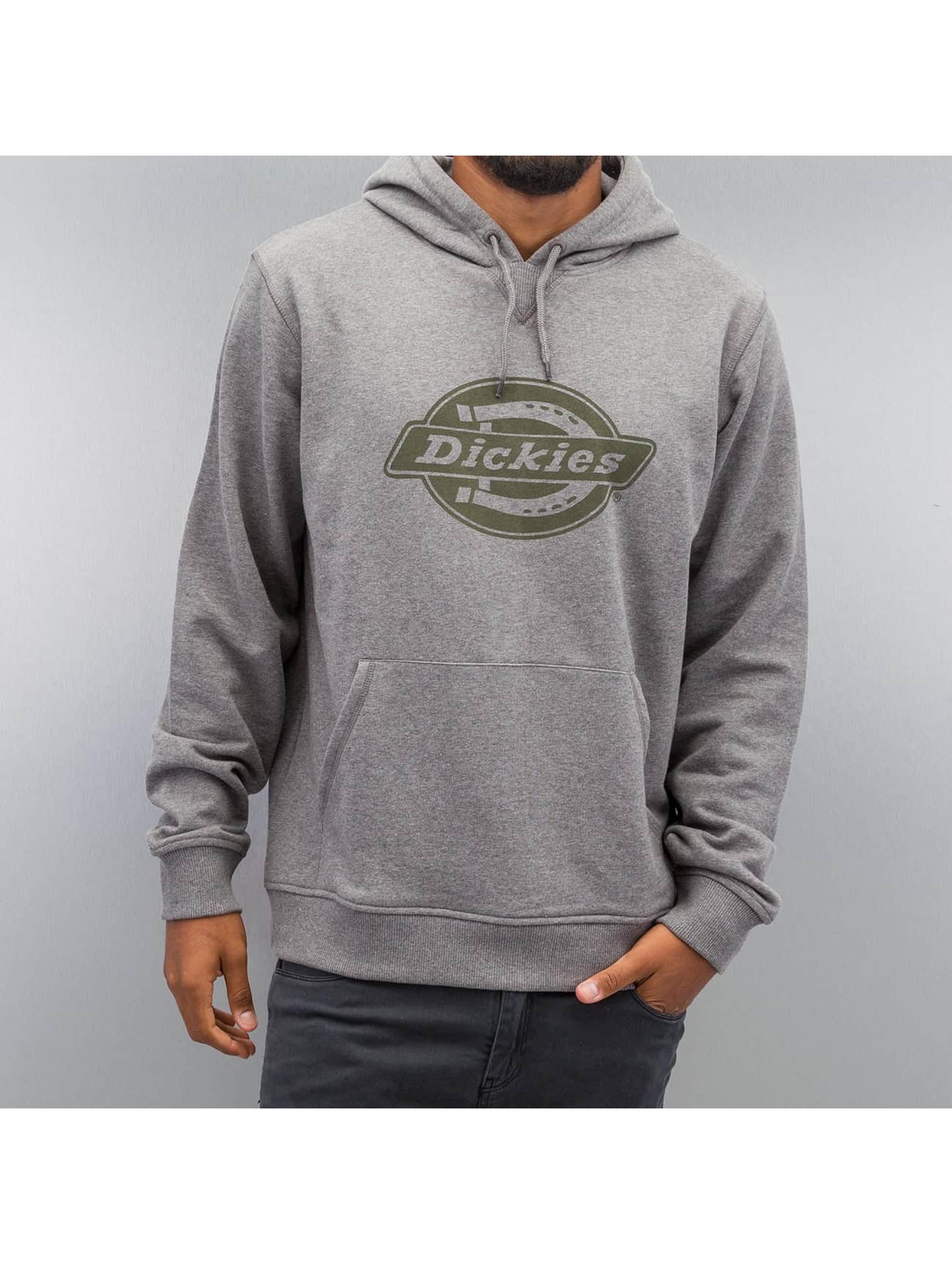 Dickies Bluzy z kapturem Delaware szary