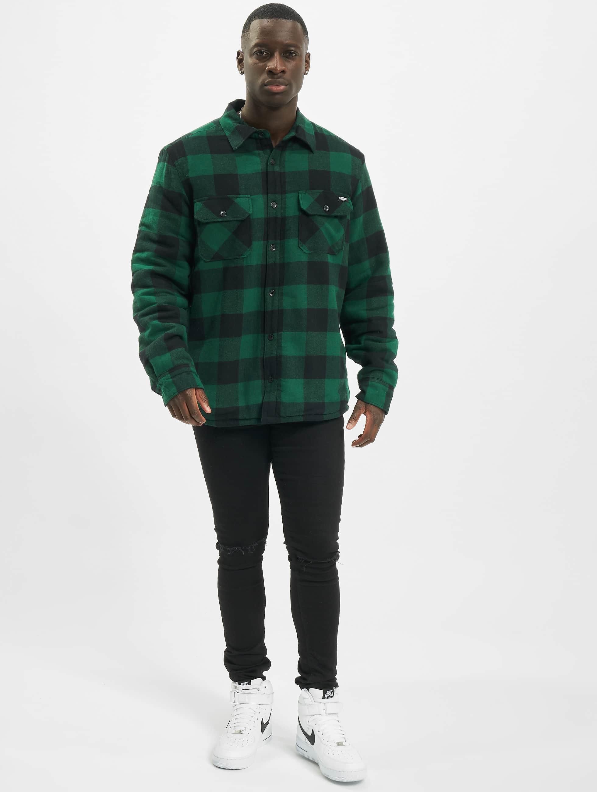 Dickies Camisa Lansdale verde