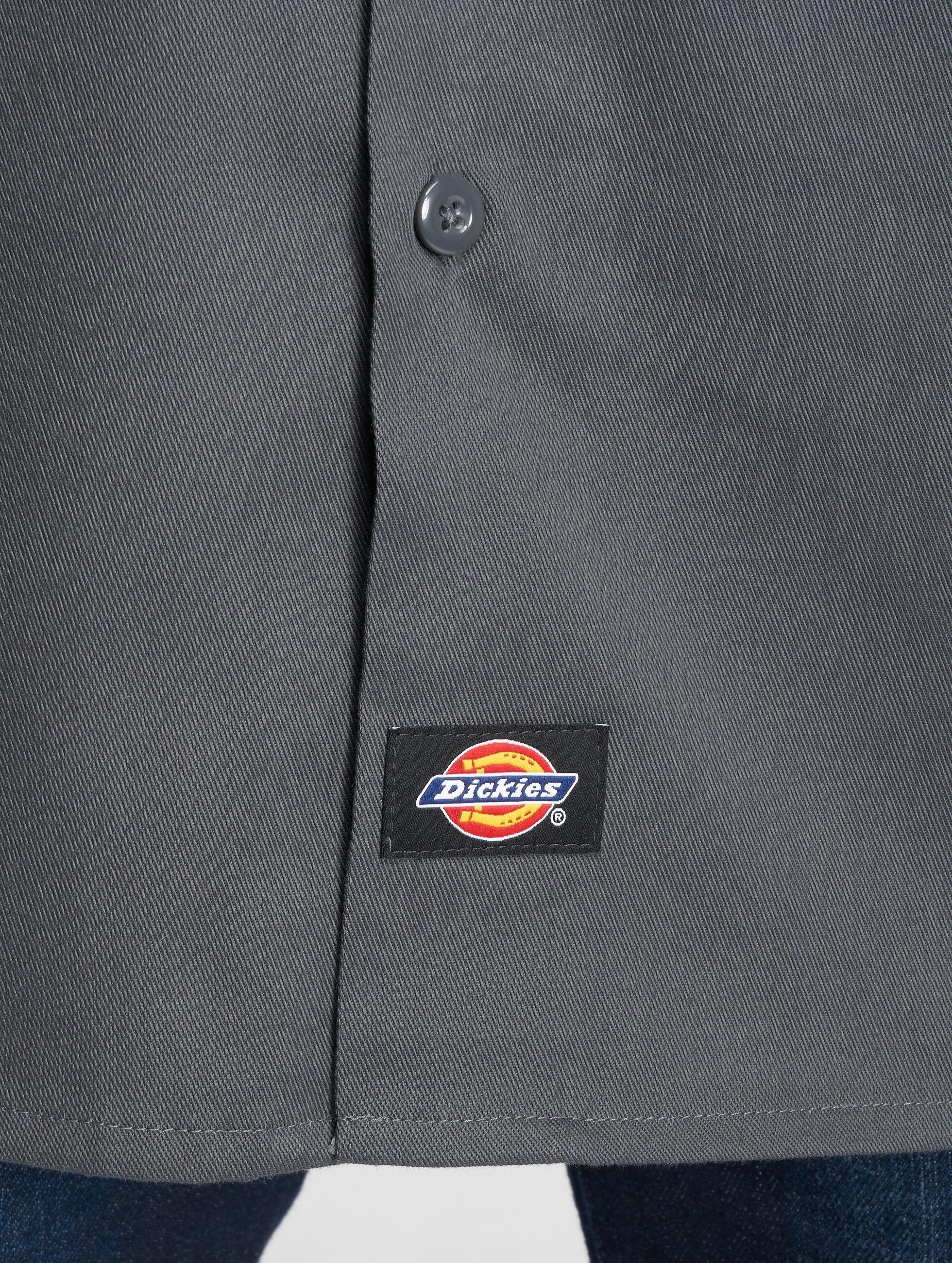 Dickies Chemise Short Sleeve Slim Work gris
