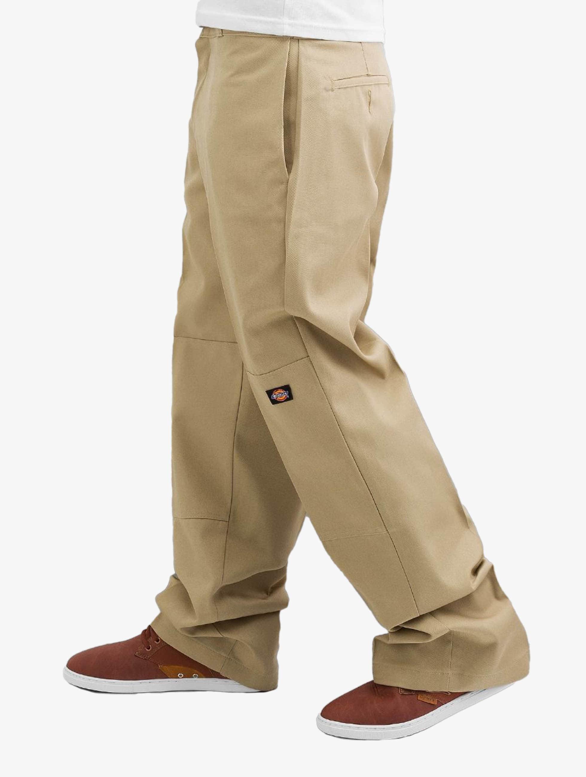 Dickies Chinot/Kangashousut Double Knee Work beige