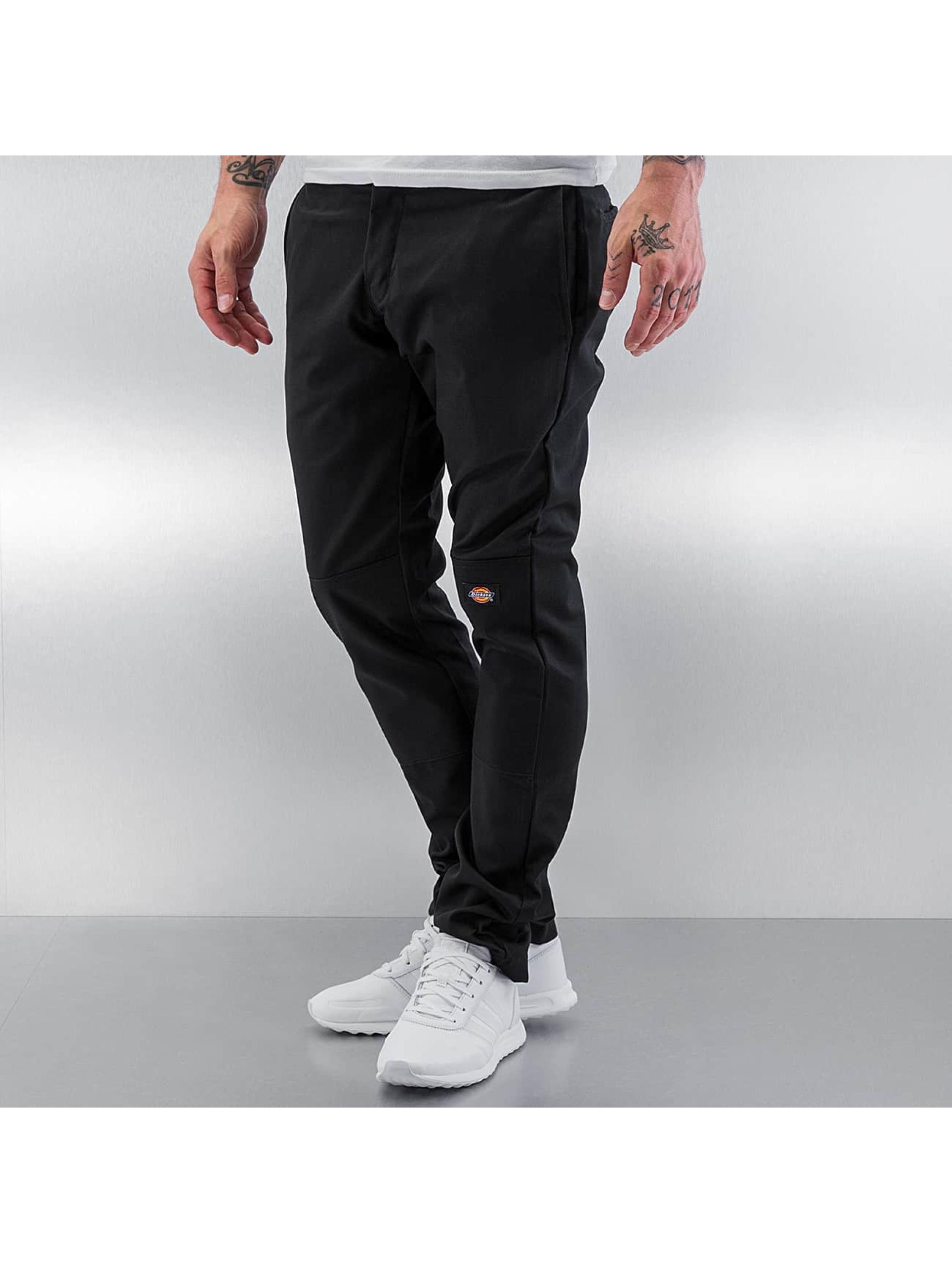 Dickies Chinot/Kangashousut Skinny Fit Double Knee musta