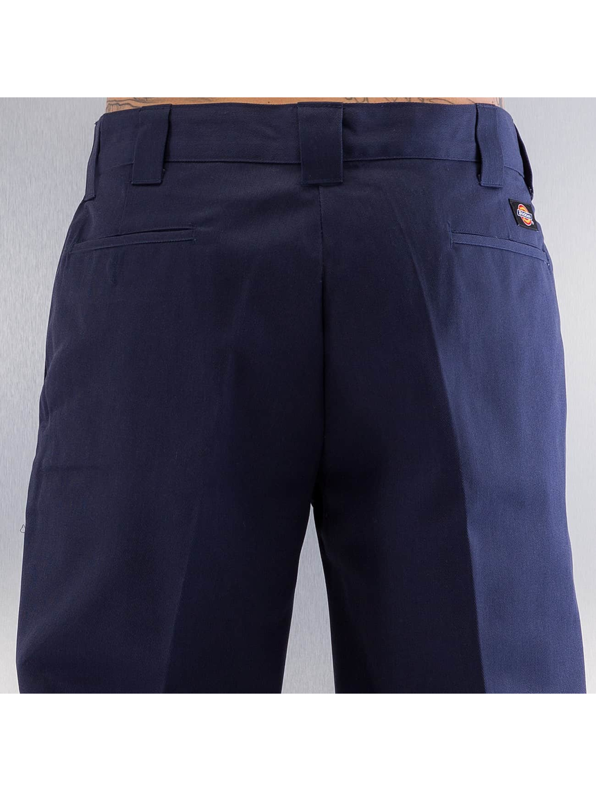 Dickies Chinot/Kangashousut Slim Straight Work sininen