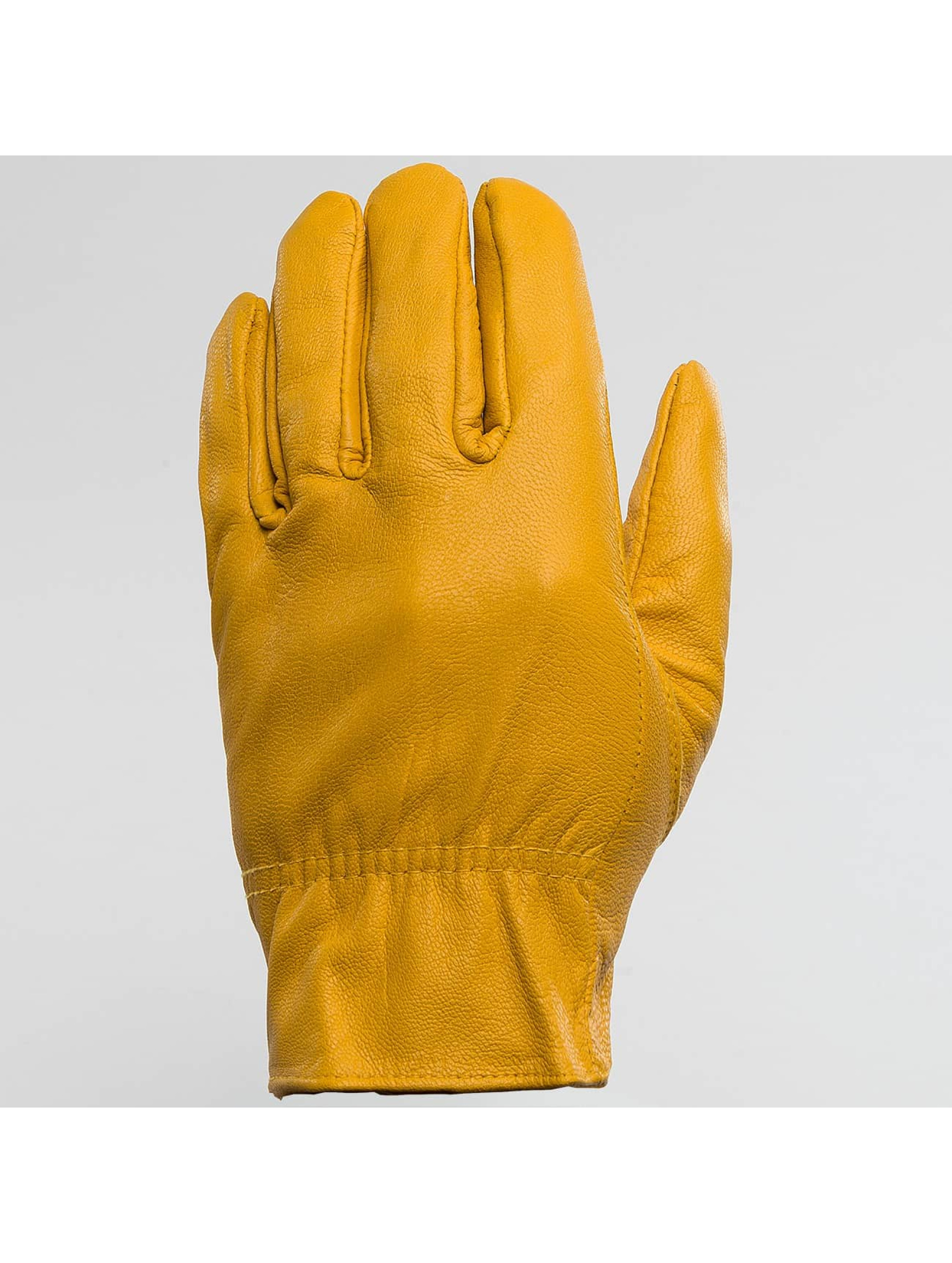 Dickies Gants Lined Leather jaune