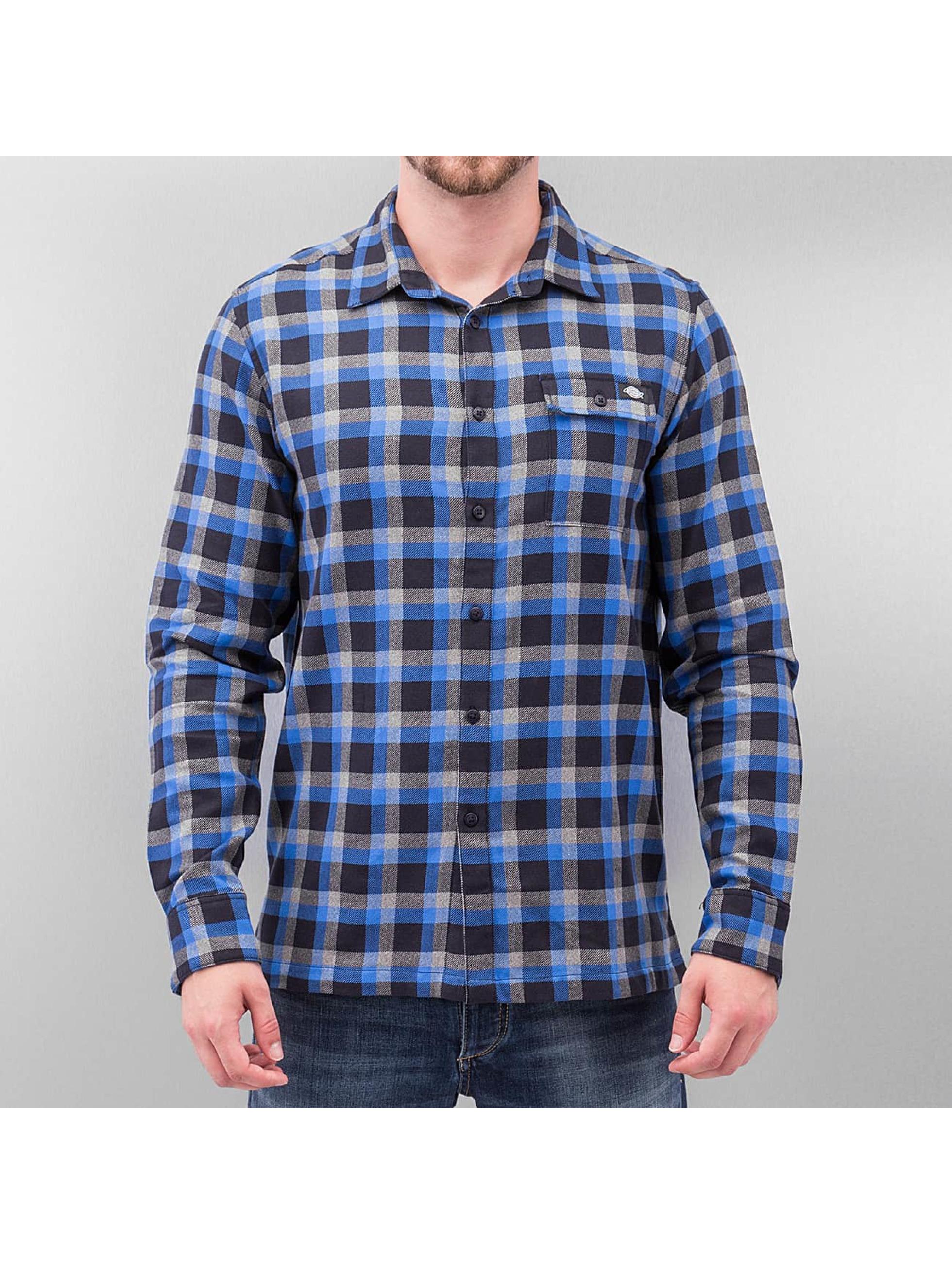 Hemd Woodford Long Sleeve in blau