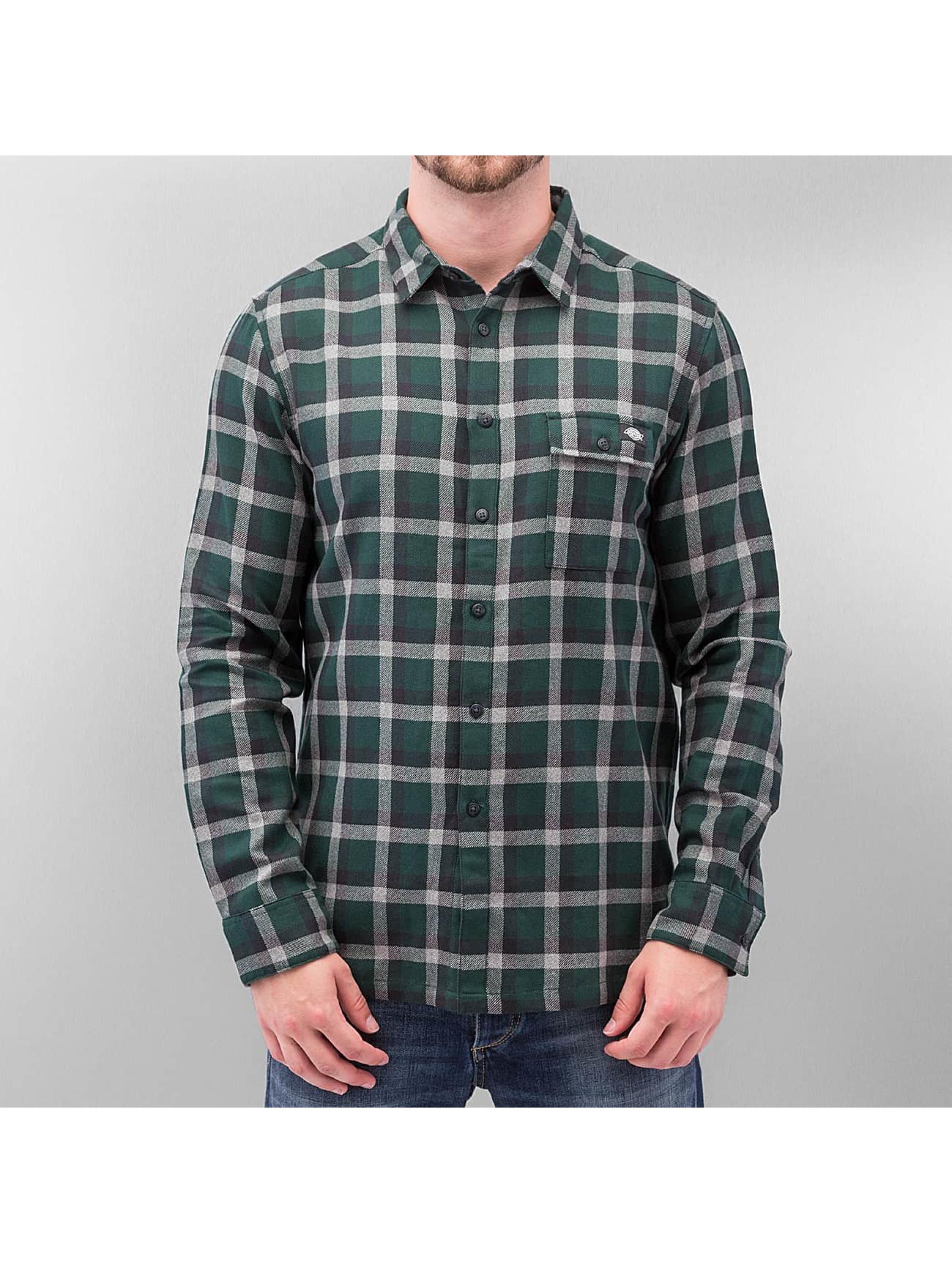 Hemd Woodford Long Sleeve in grün