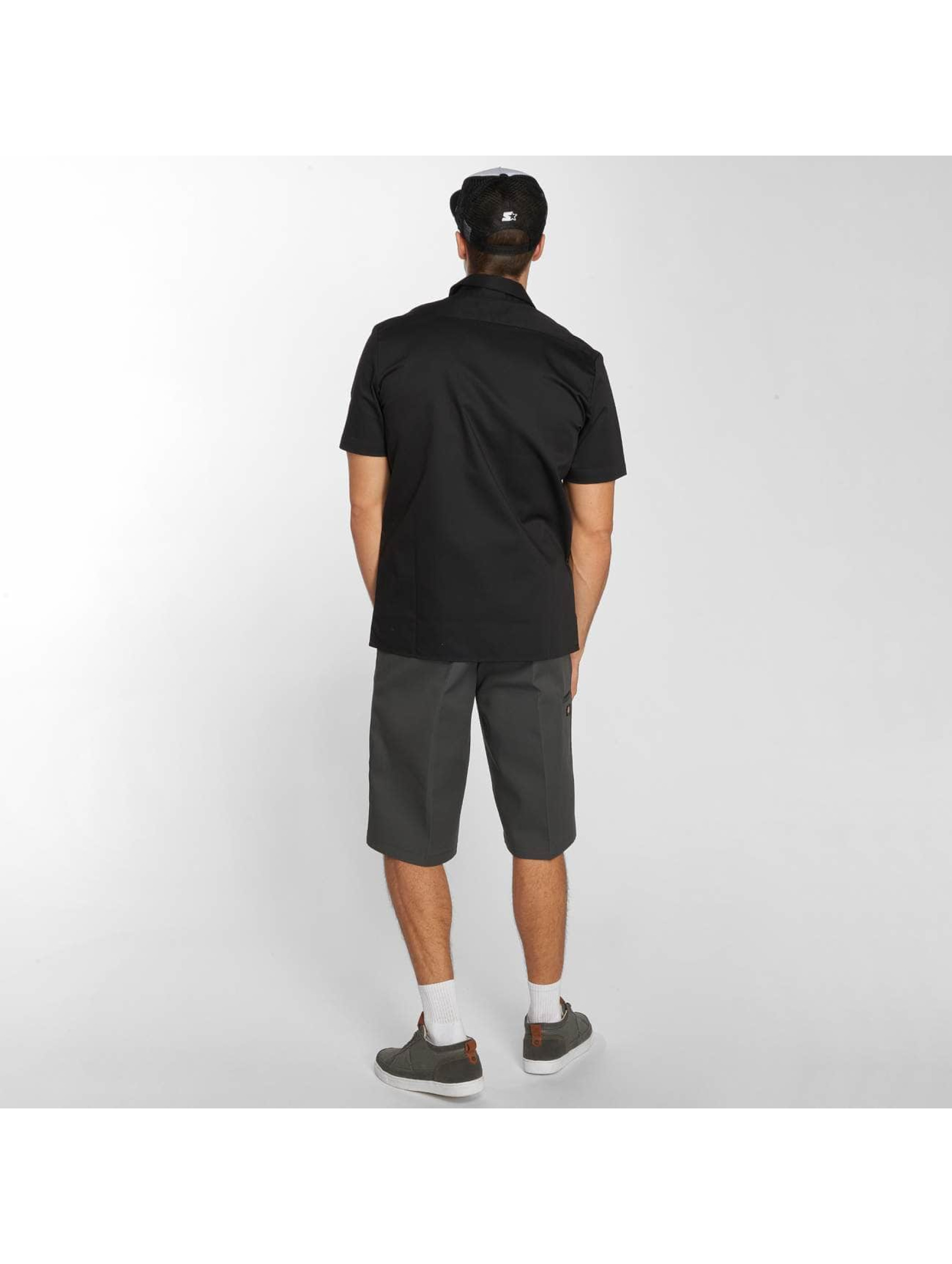 Dickies Hemd Short Sleeve Slim Work schwarz