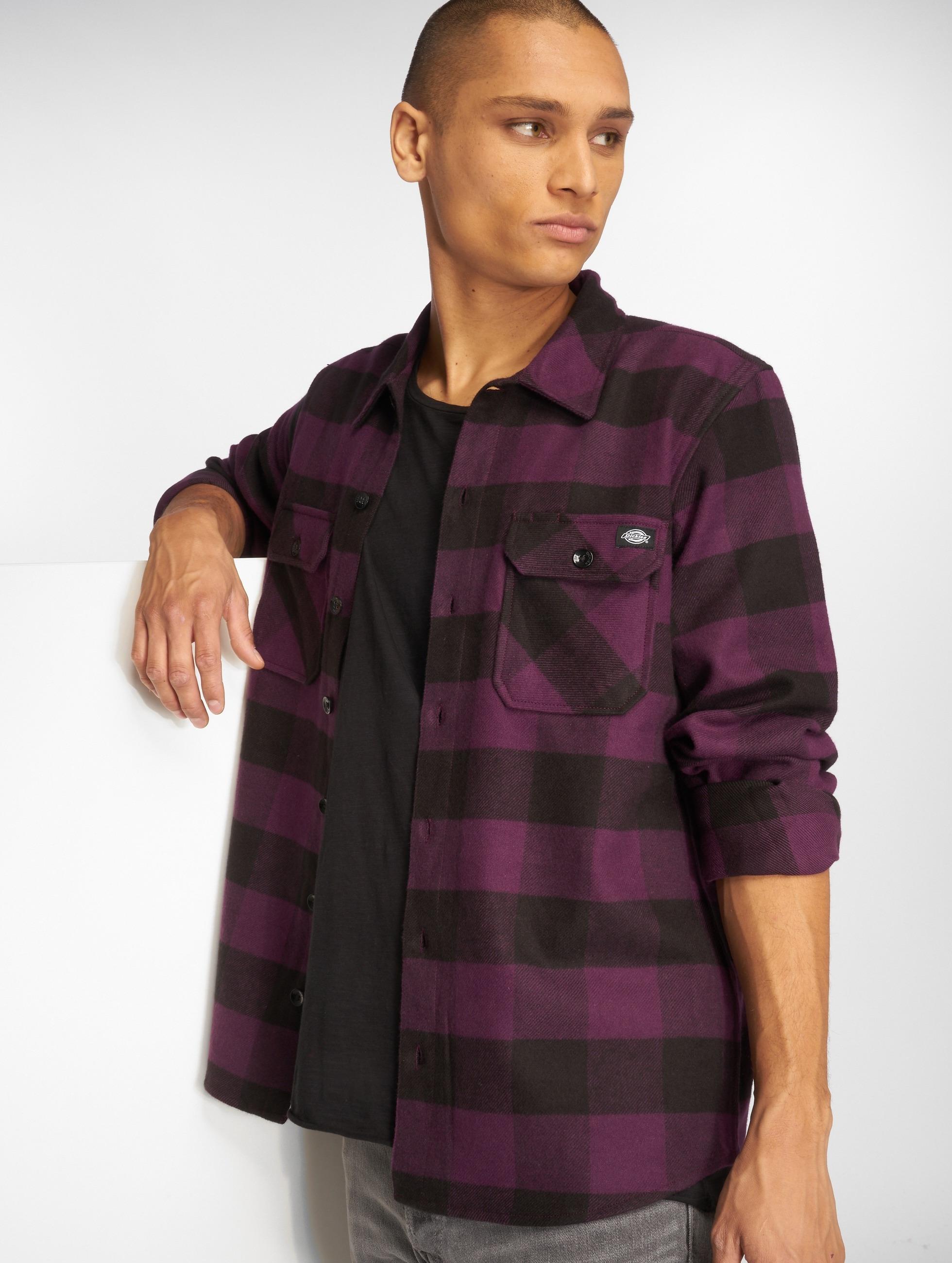 Dickies Hemd Sacramento violet