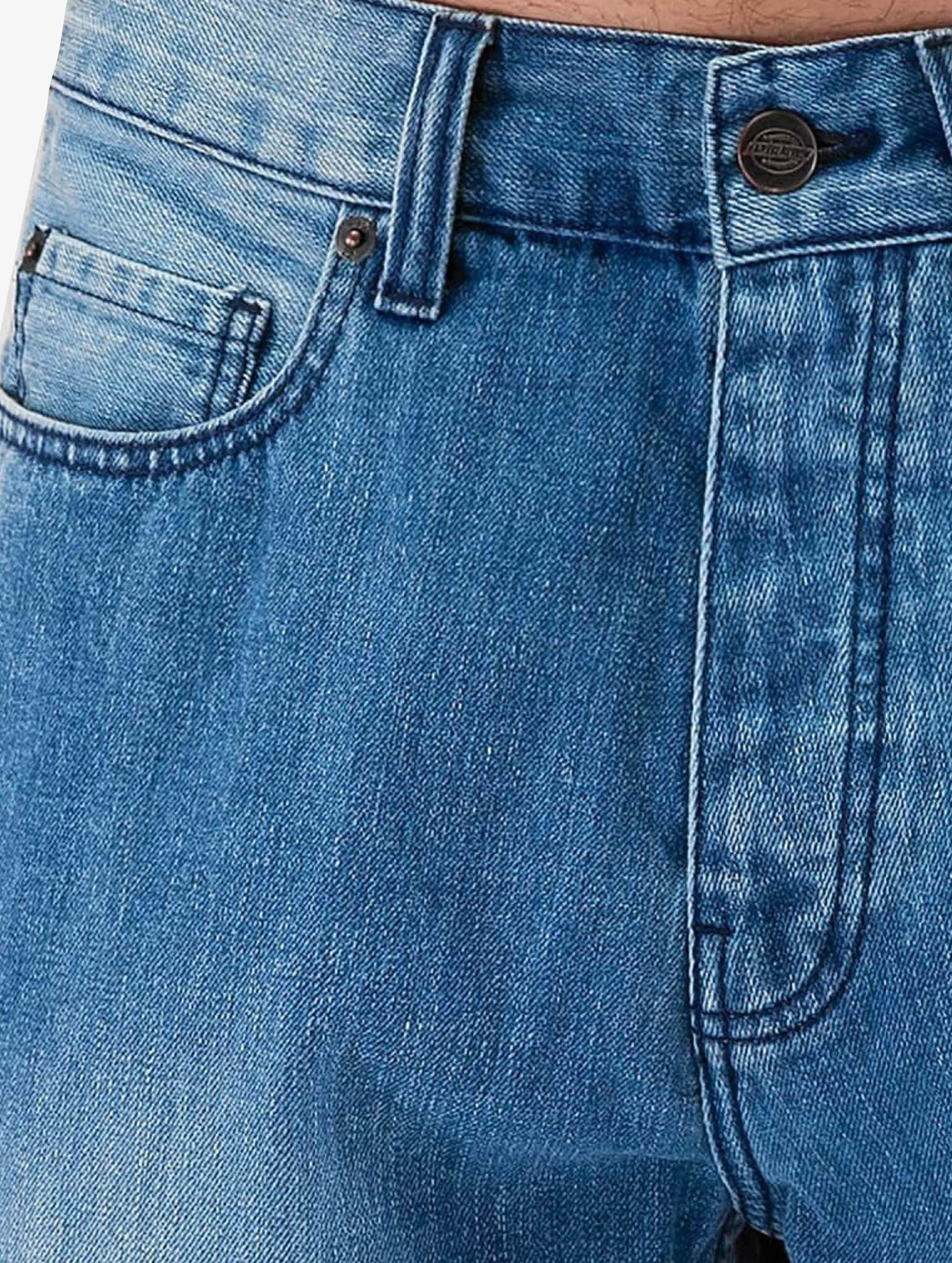 dickies pensacola bleu homme jean large dickies acheter pas cher jean 266498. Black Bedroom Furniture Sets. Home Design Ideas
