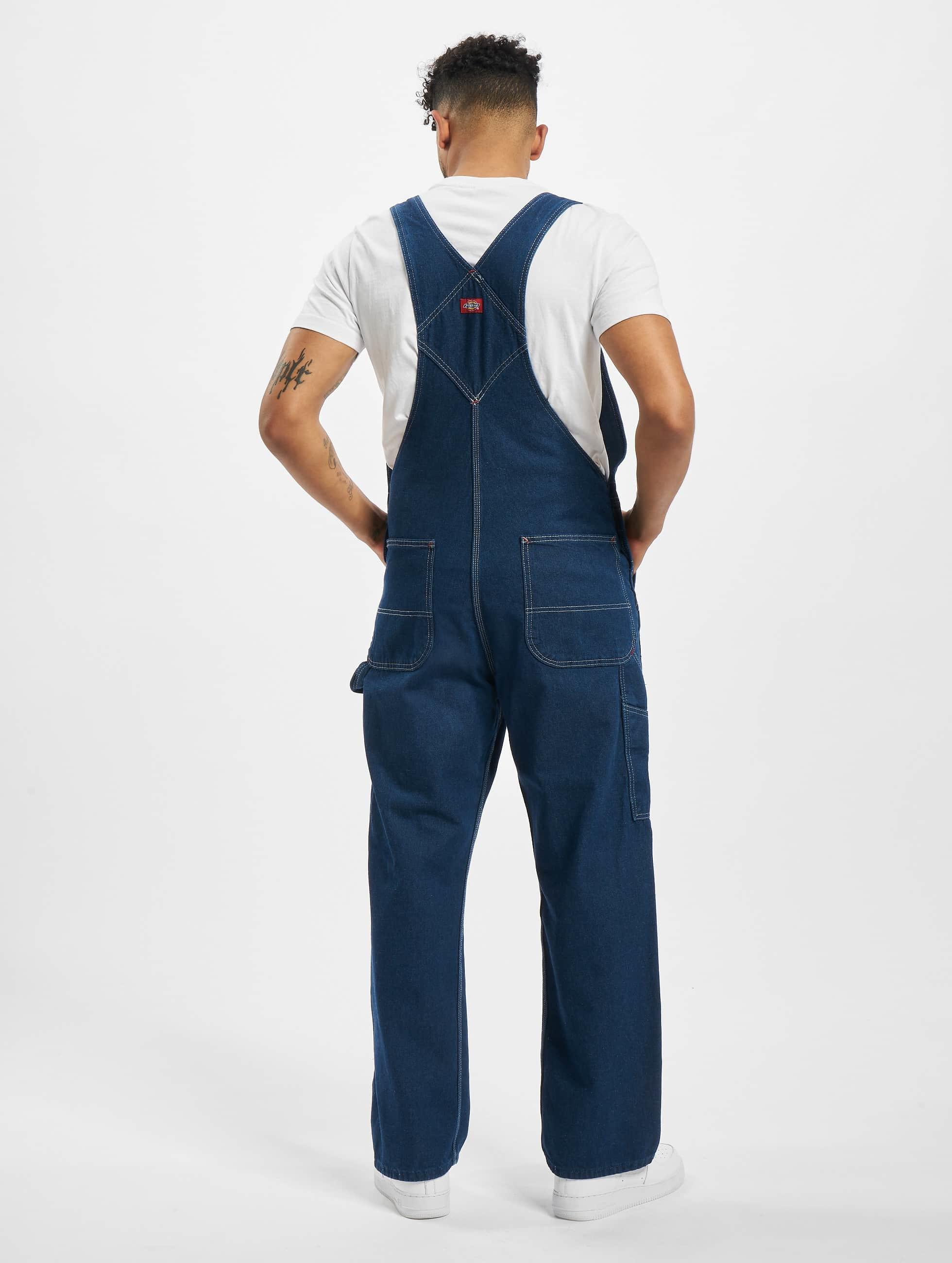 Dickies Loose Fit Jeans Bib Overall blau