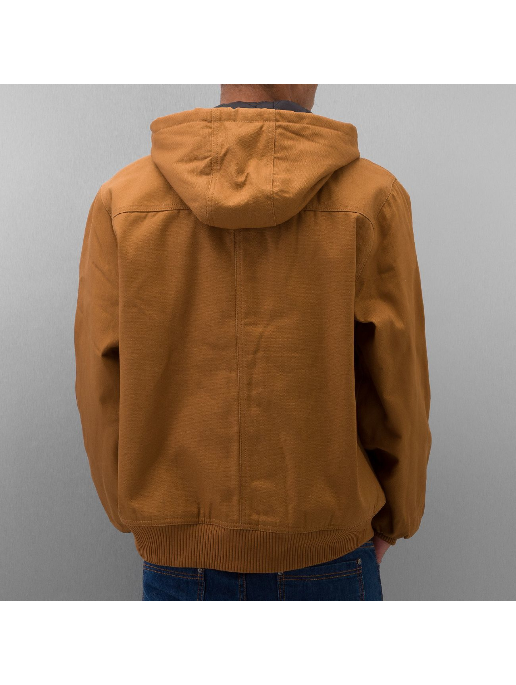 Dickies Manteau hiver Rigid Duck Hooded brun