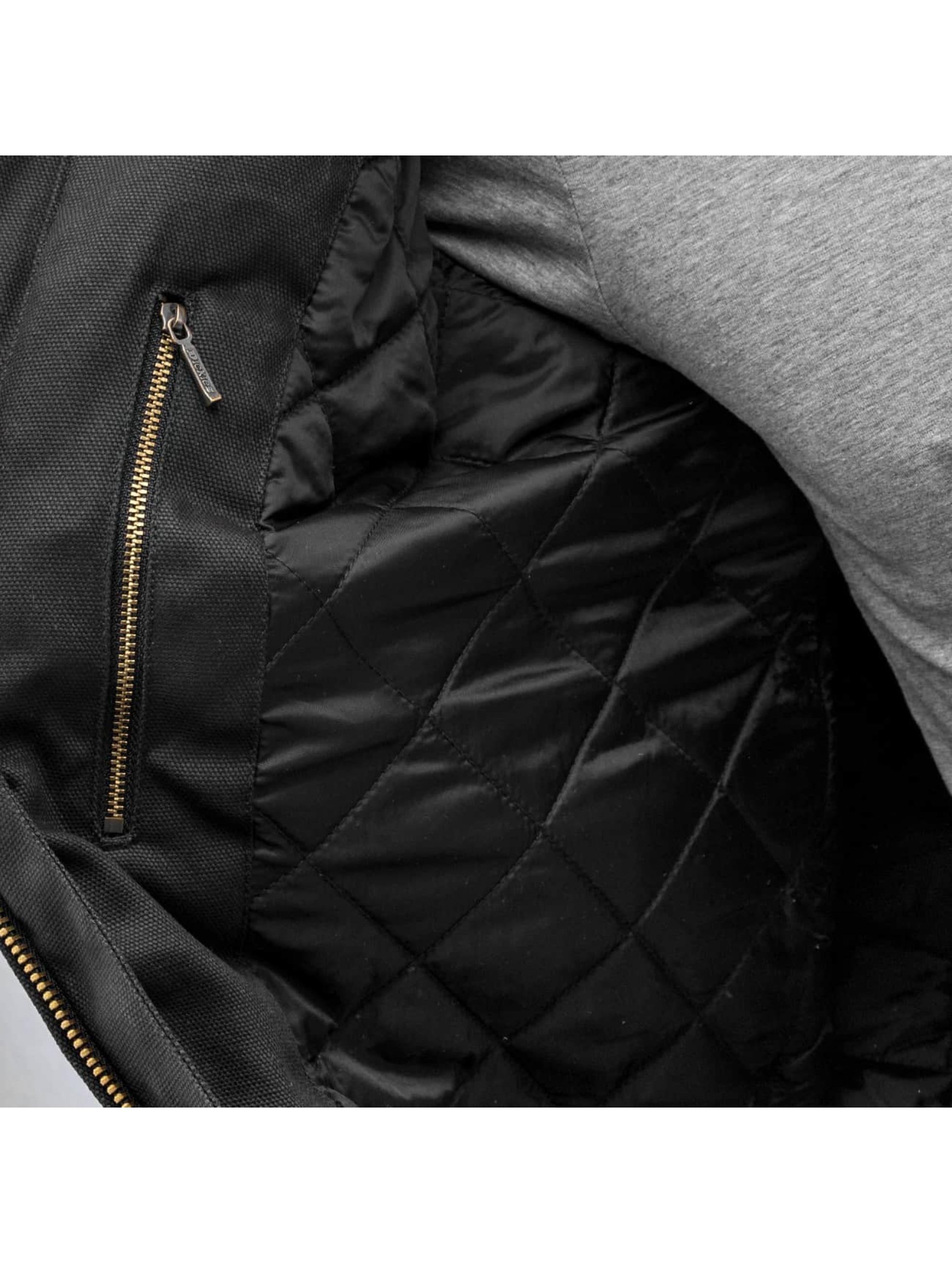 Dickies Manteau hiver Jefferson noir