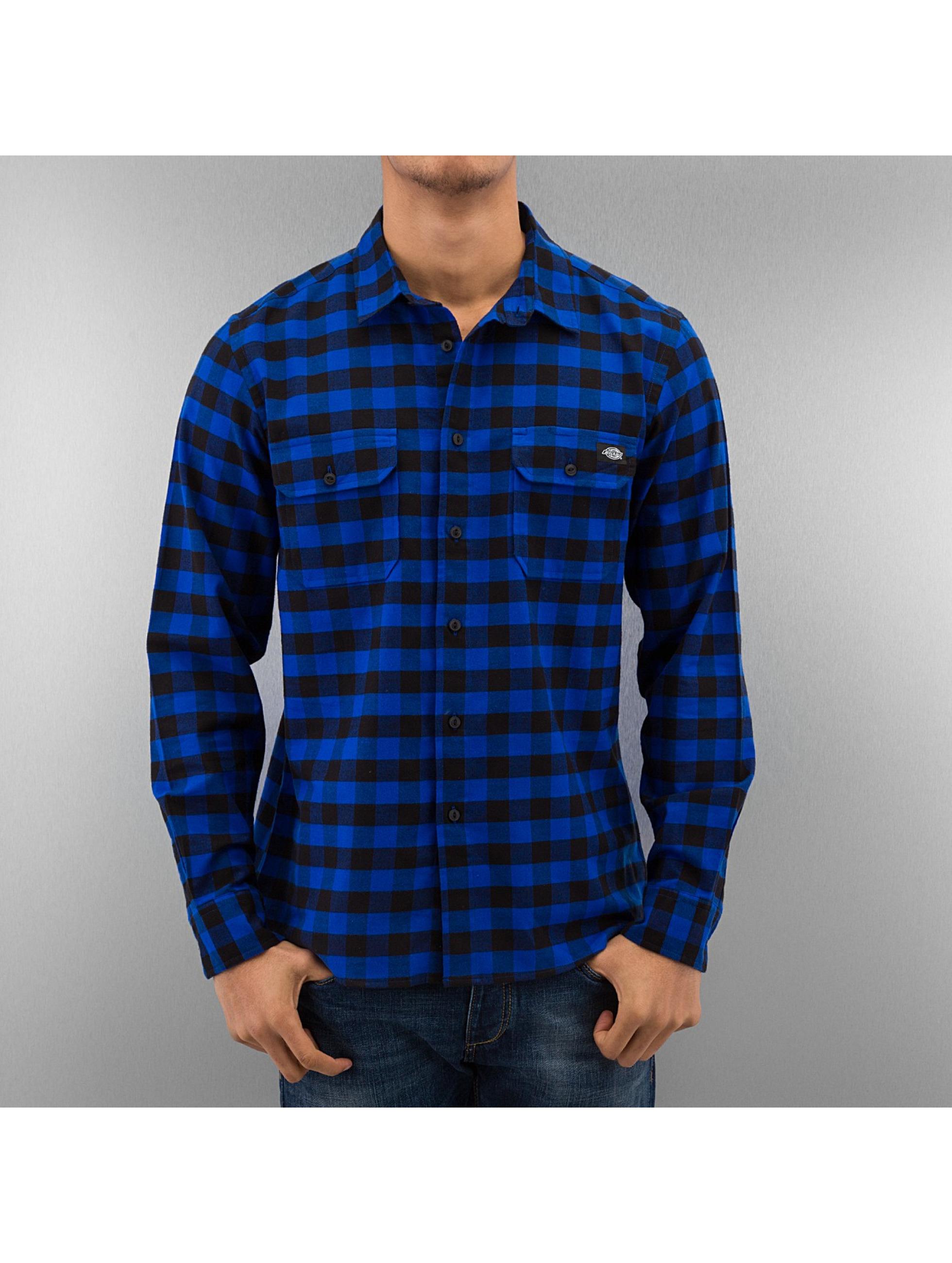Dickies overhemd Jacksonville blauw