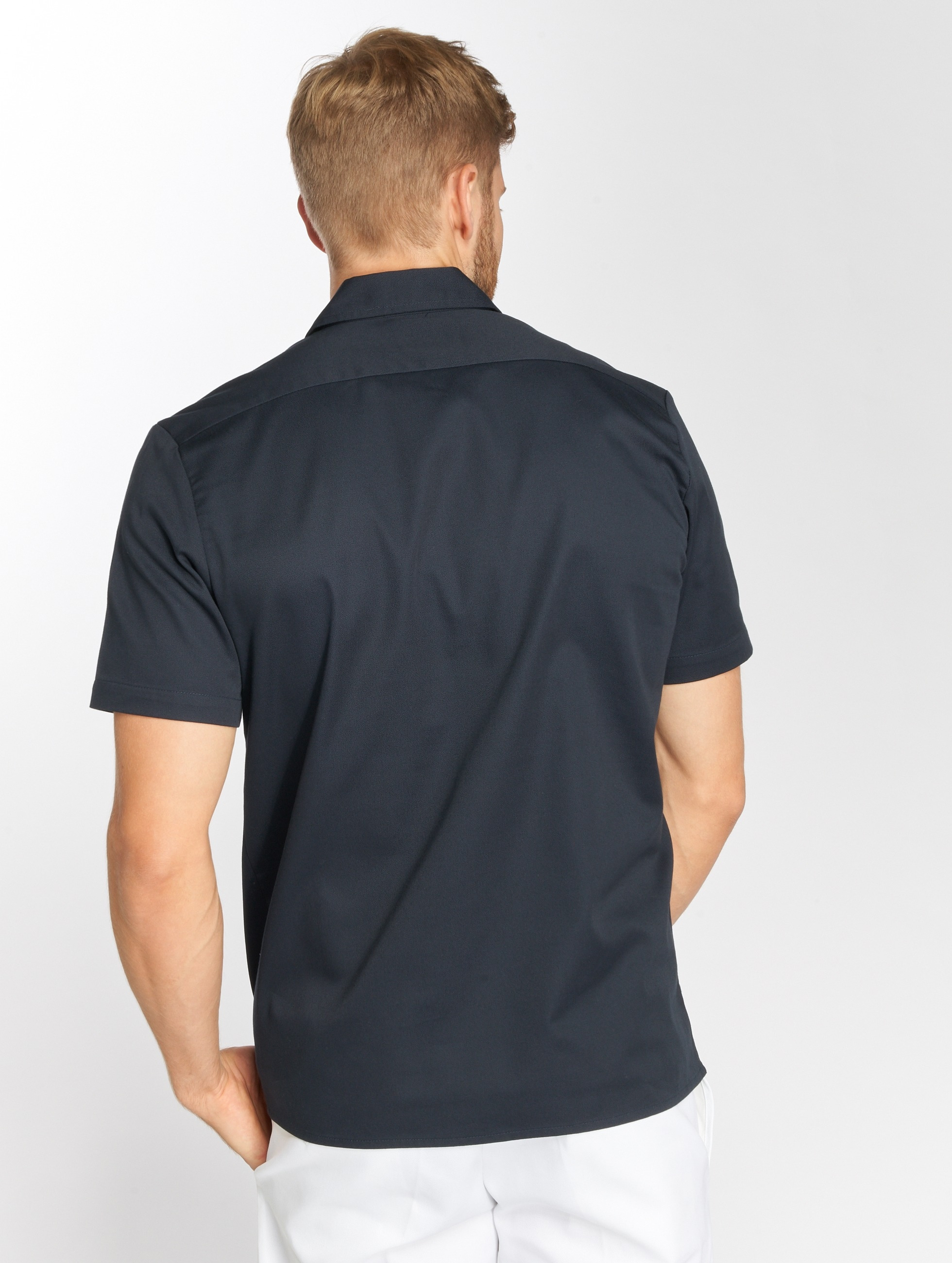 Dickies overhemd Rotonda South blauw