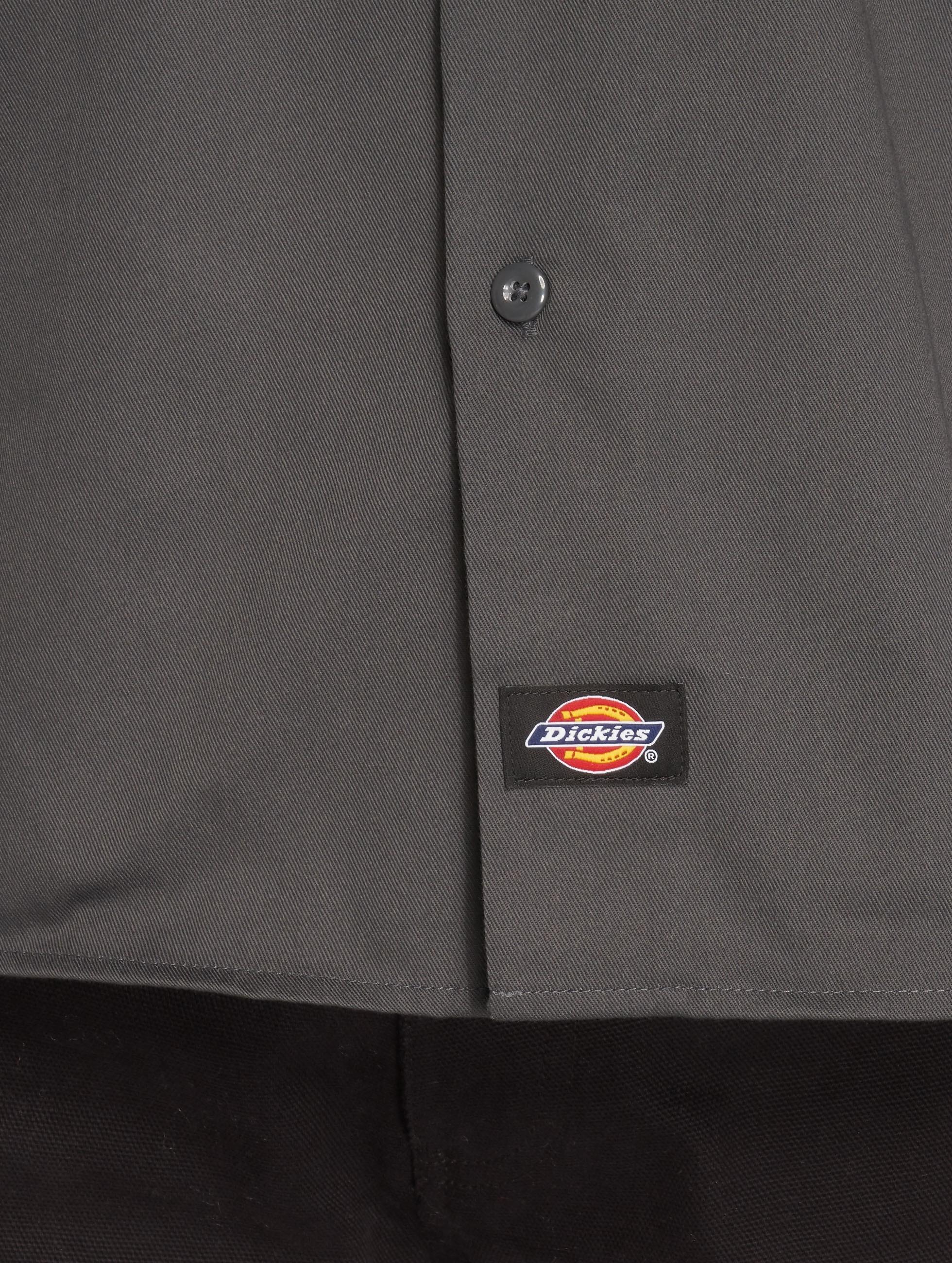 Dickies overhemd Slim Work grijs
