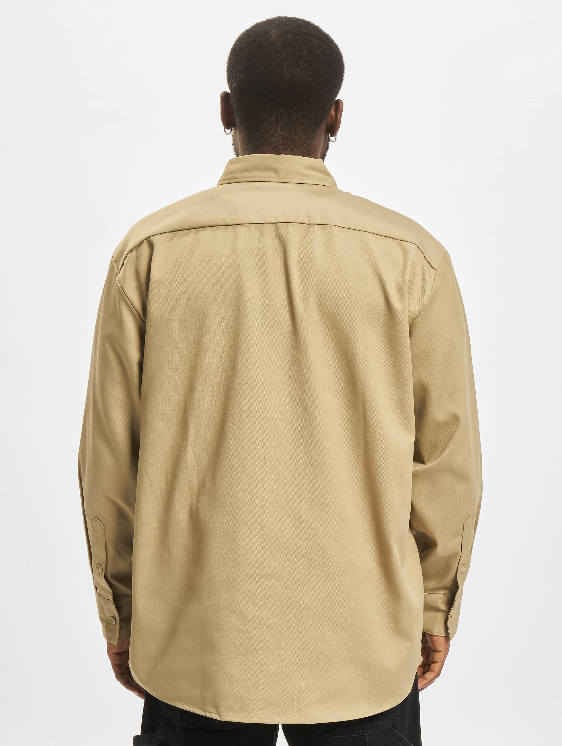 Dickies overhemd Longsleeve Work khaki