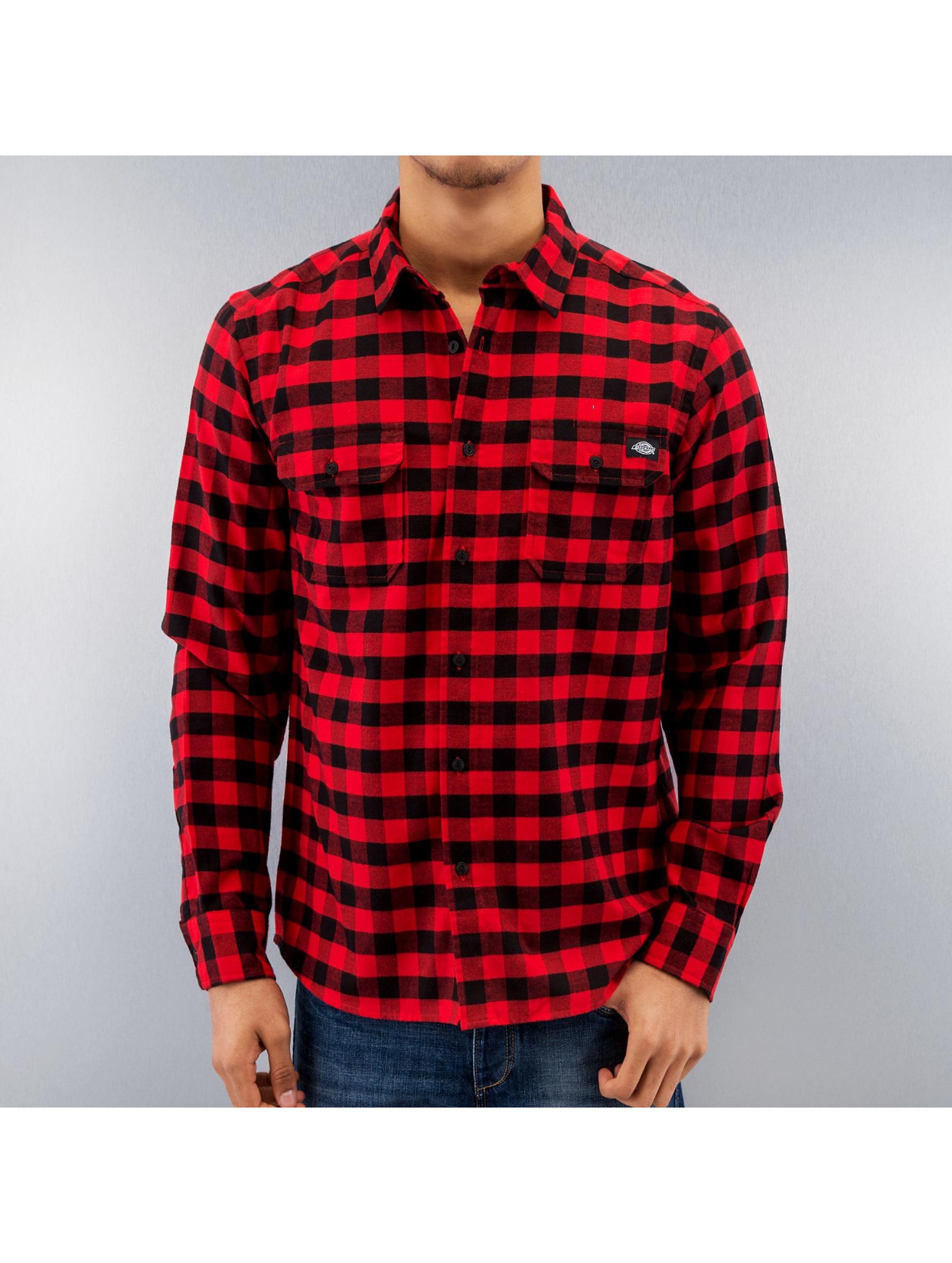 Dickies overhemd Jacksonville rood