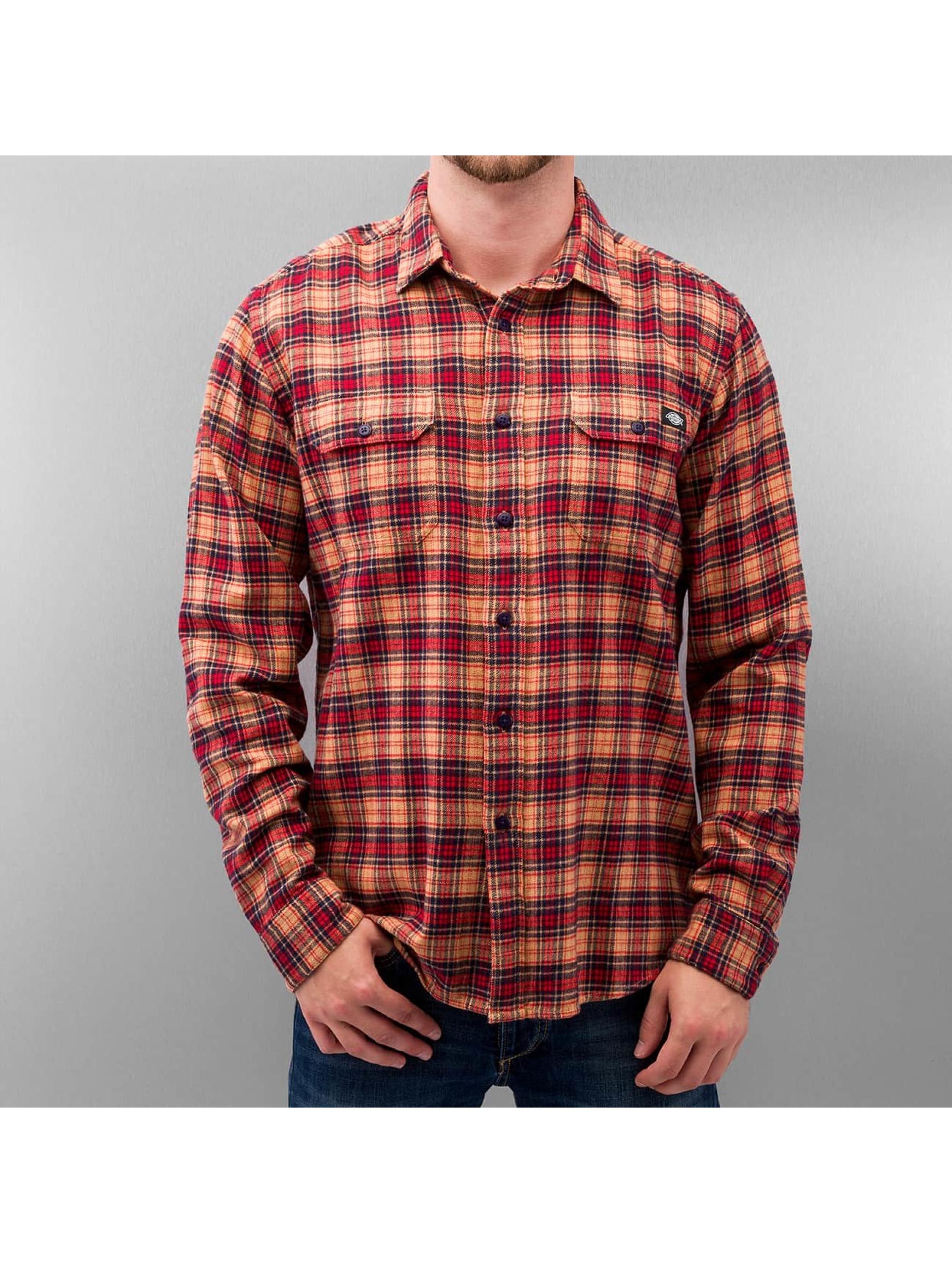 Dickies overhemd Seymour rood